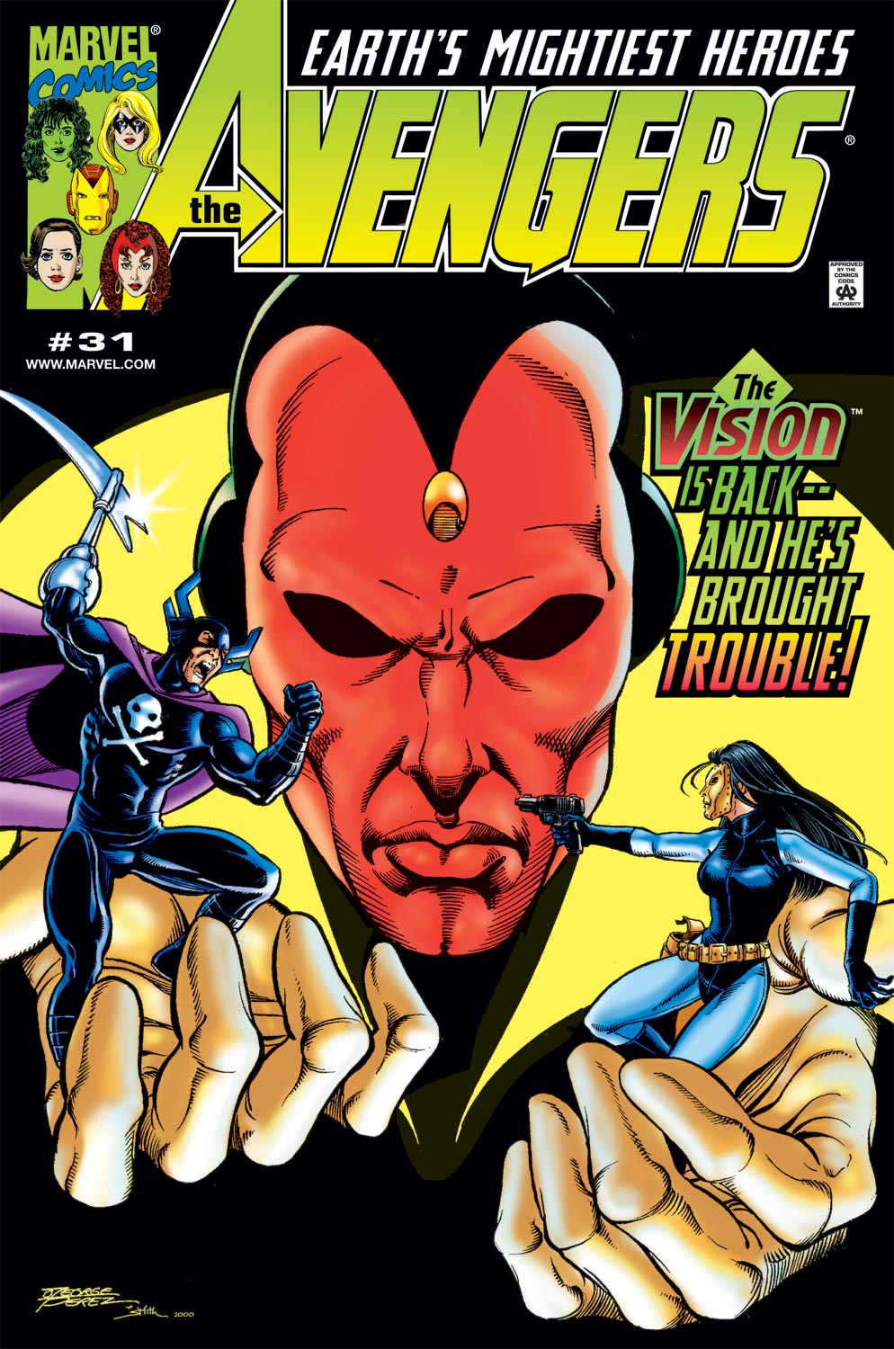 Read online Avengers (1998) comic -  Issue #31 - 1