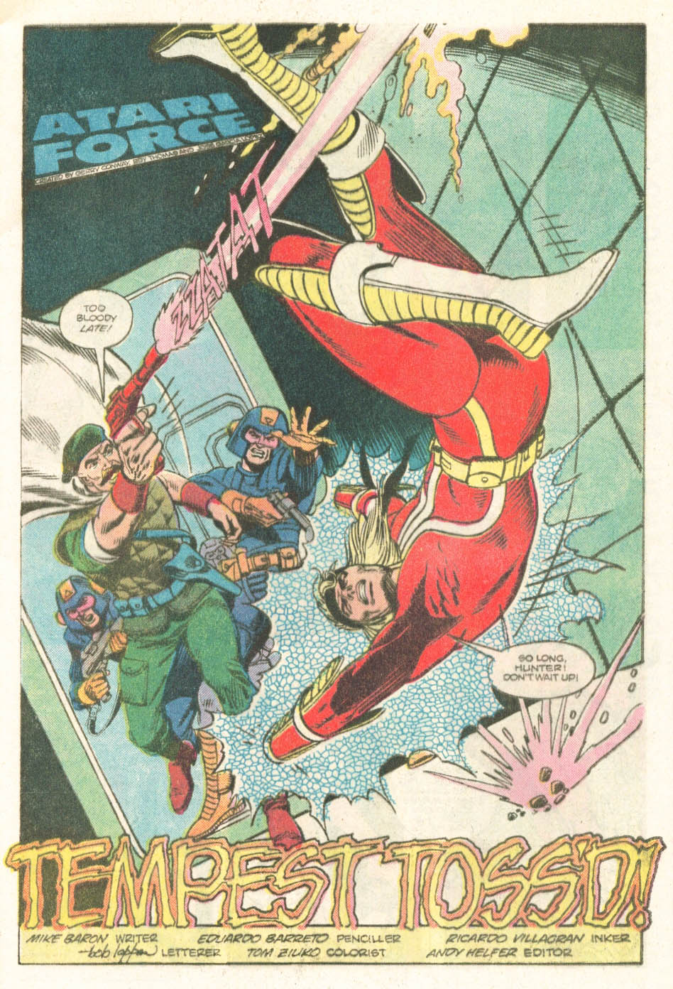Read online Atari Force (1984) comic -  Issue #18 - 5