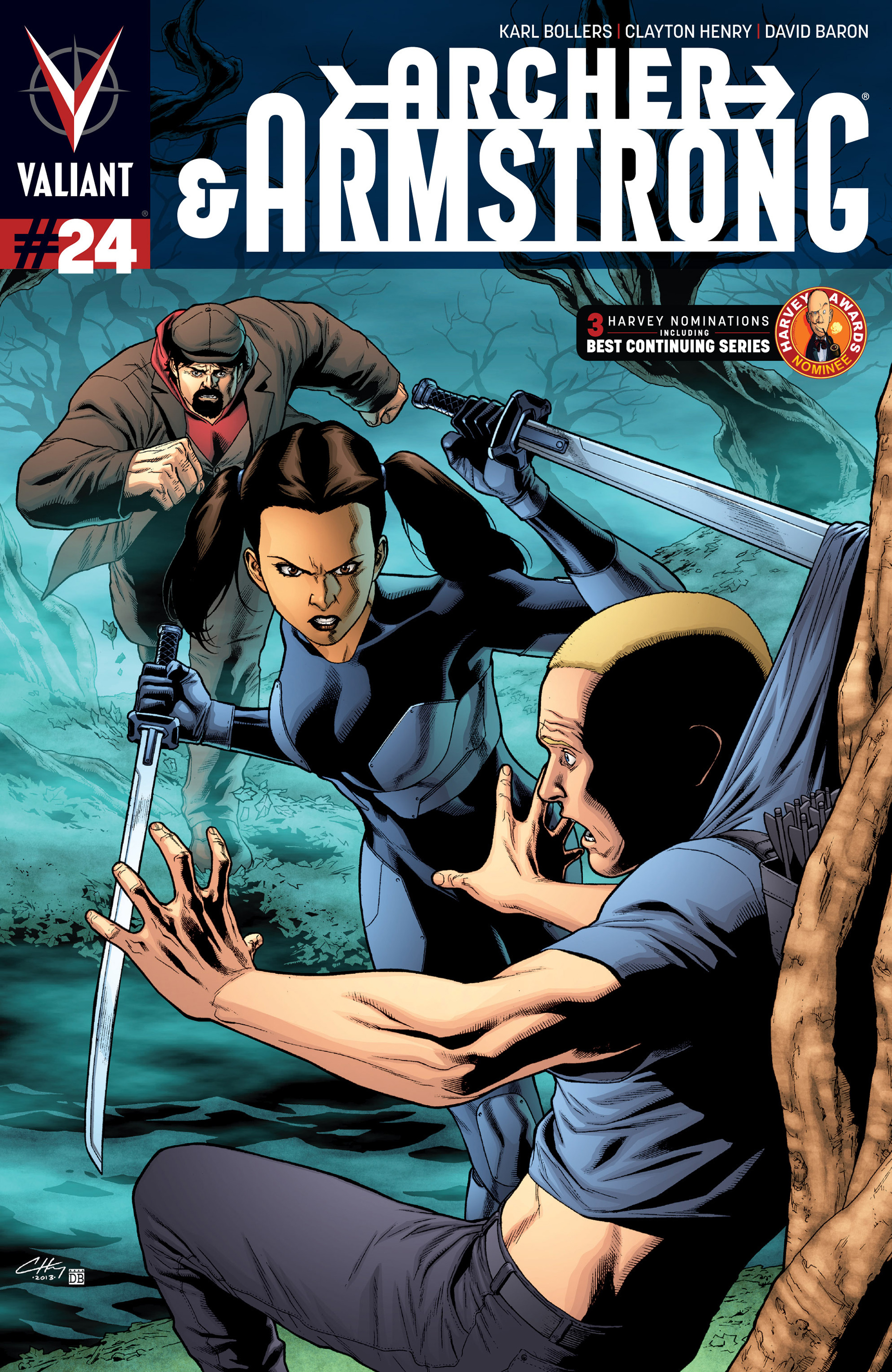 Read online Archer and Armstrong comic -  Issue #24 - 1