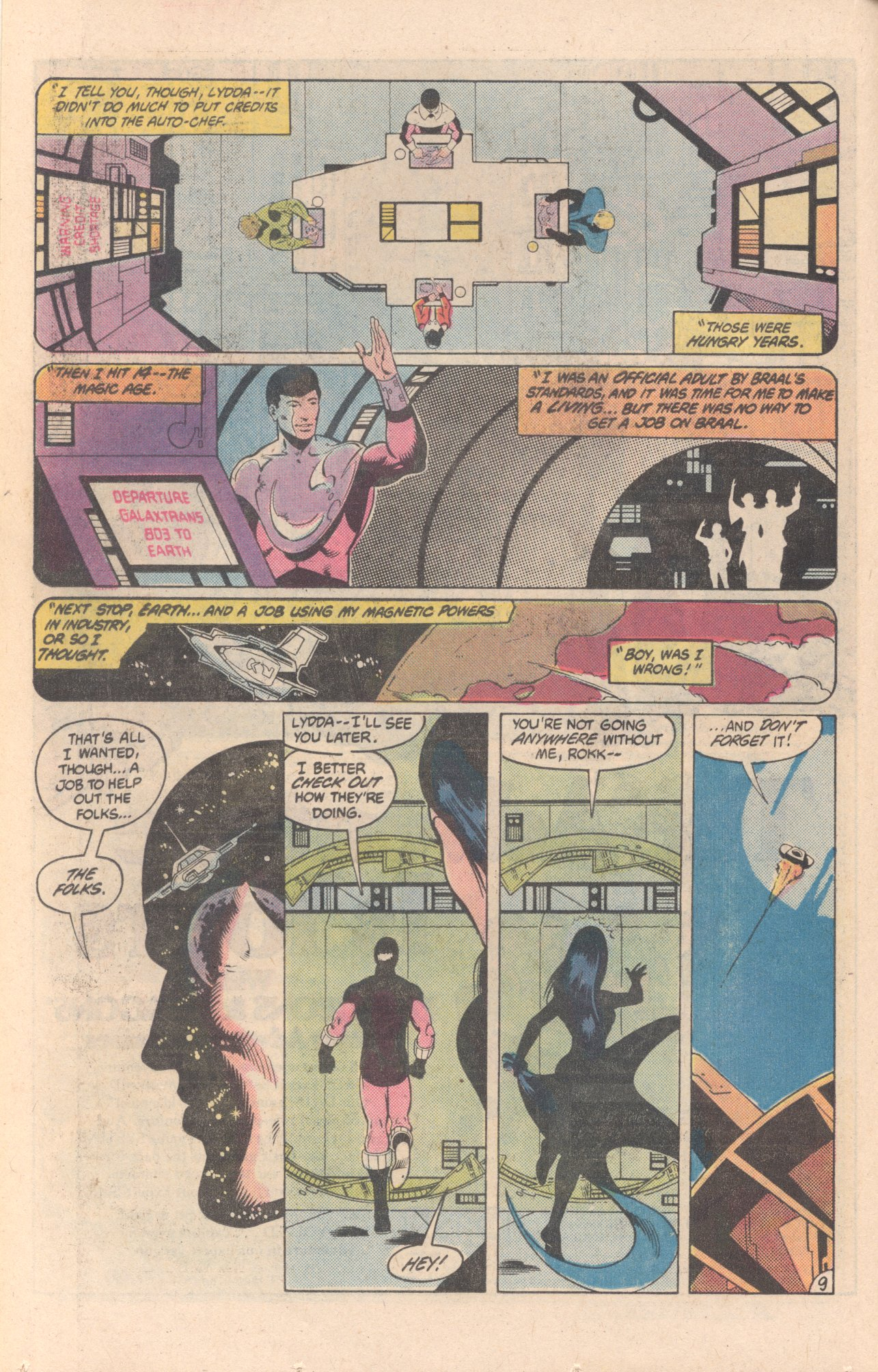 Legion of Super-Heroes (1980) 297 Page 9
