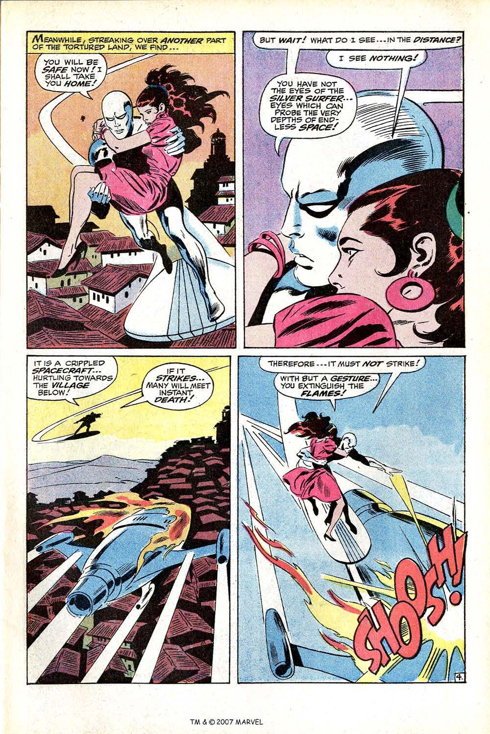Read online Silver Surfer (1968) comic -  Issue #11 - 7