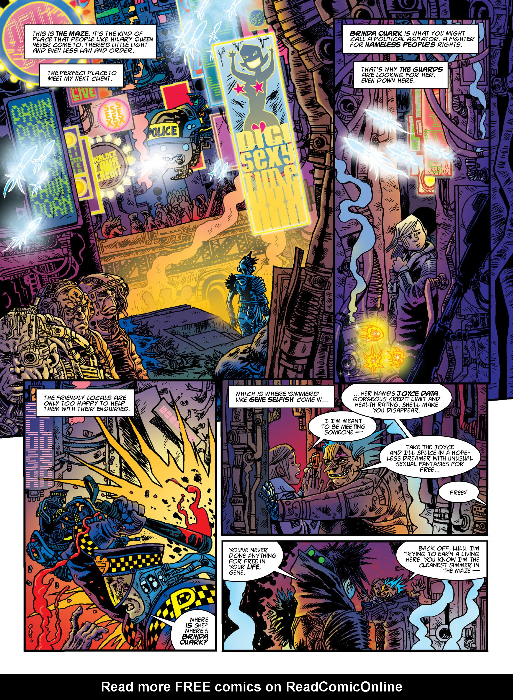 Read online 2000 AD comic -  Issue #2000 - 47