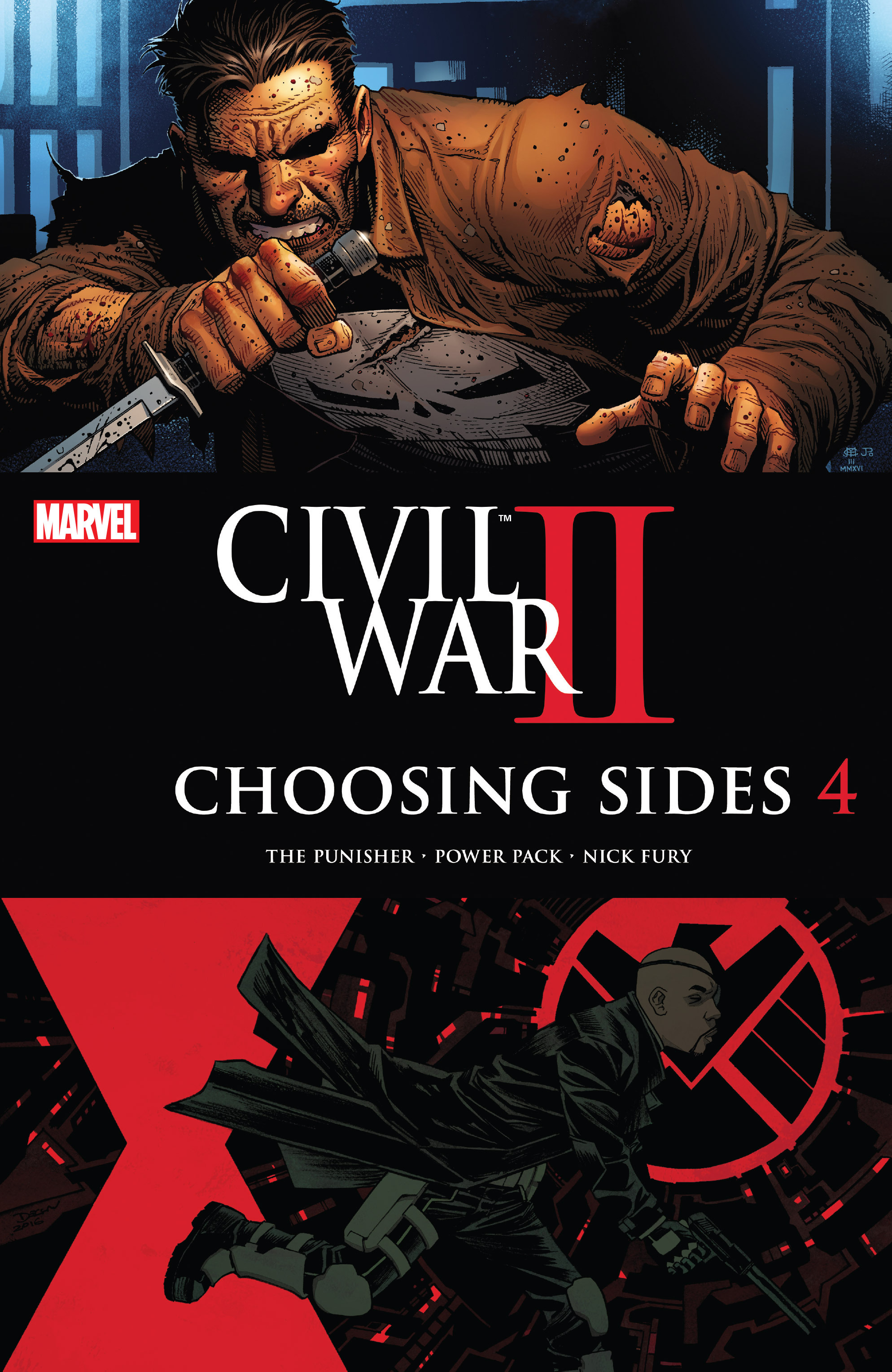 Civil War II: Choosing Sides 4 Page 1