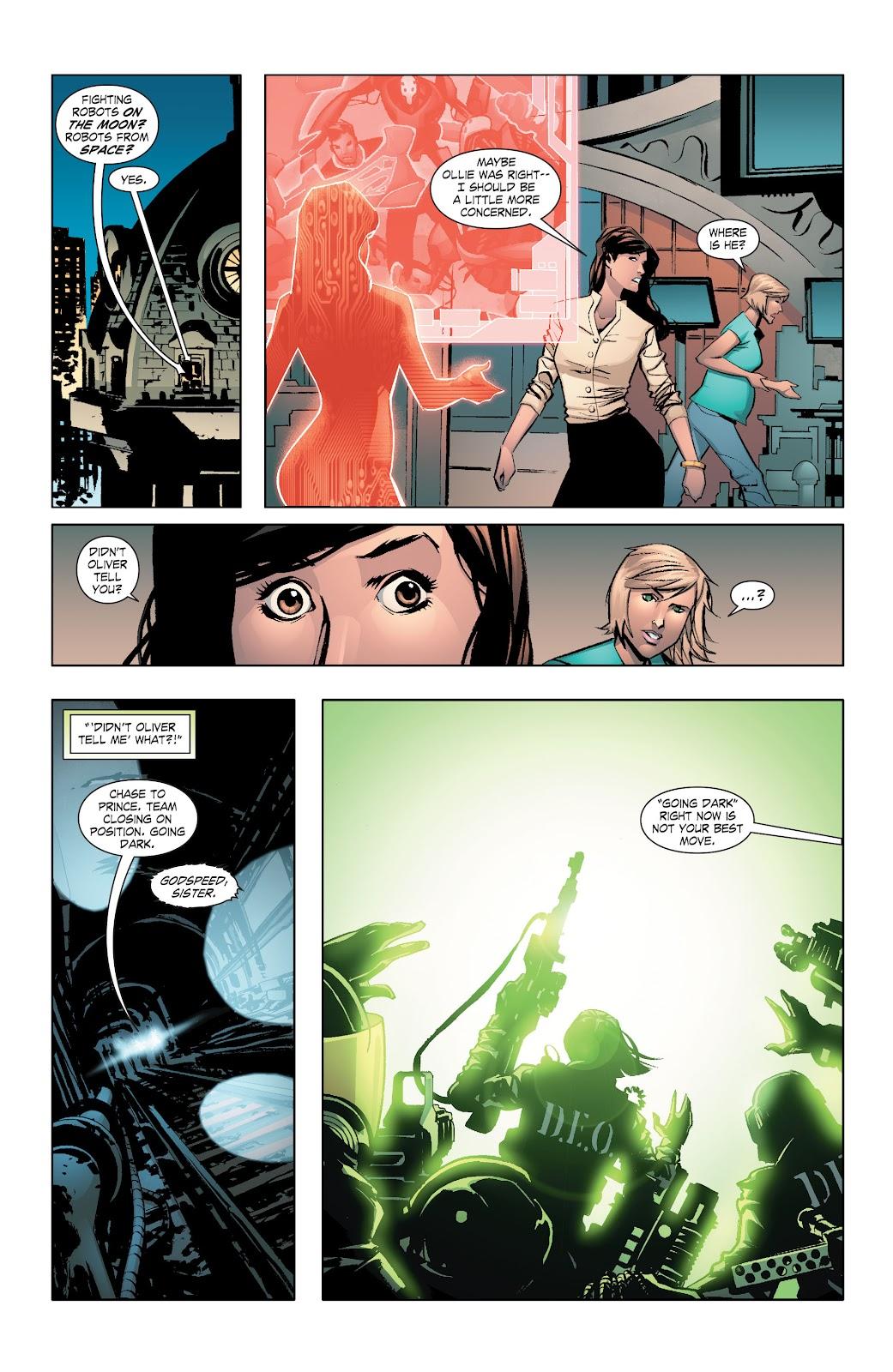 Read online Smallville Season 11 [II] comic -  Issue # TPB 7 - 61