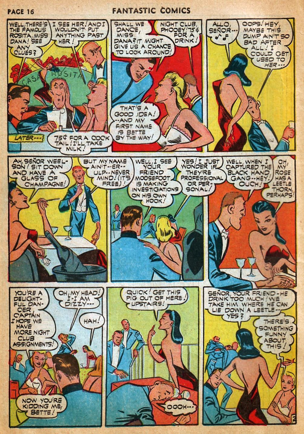 Read online Fantastic Comics comic -  Issue #22 - 18