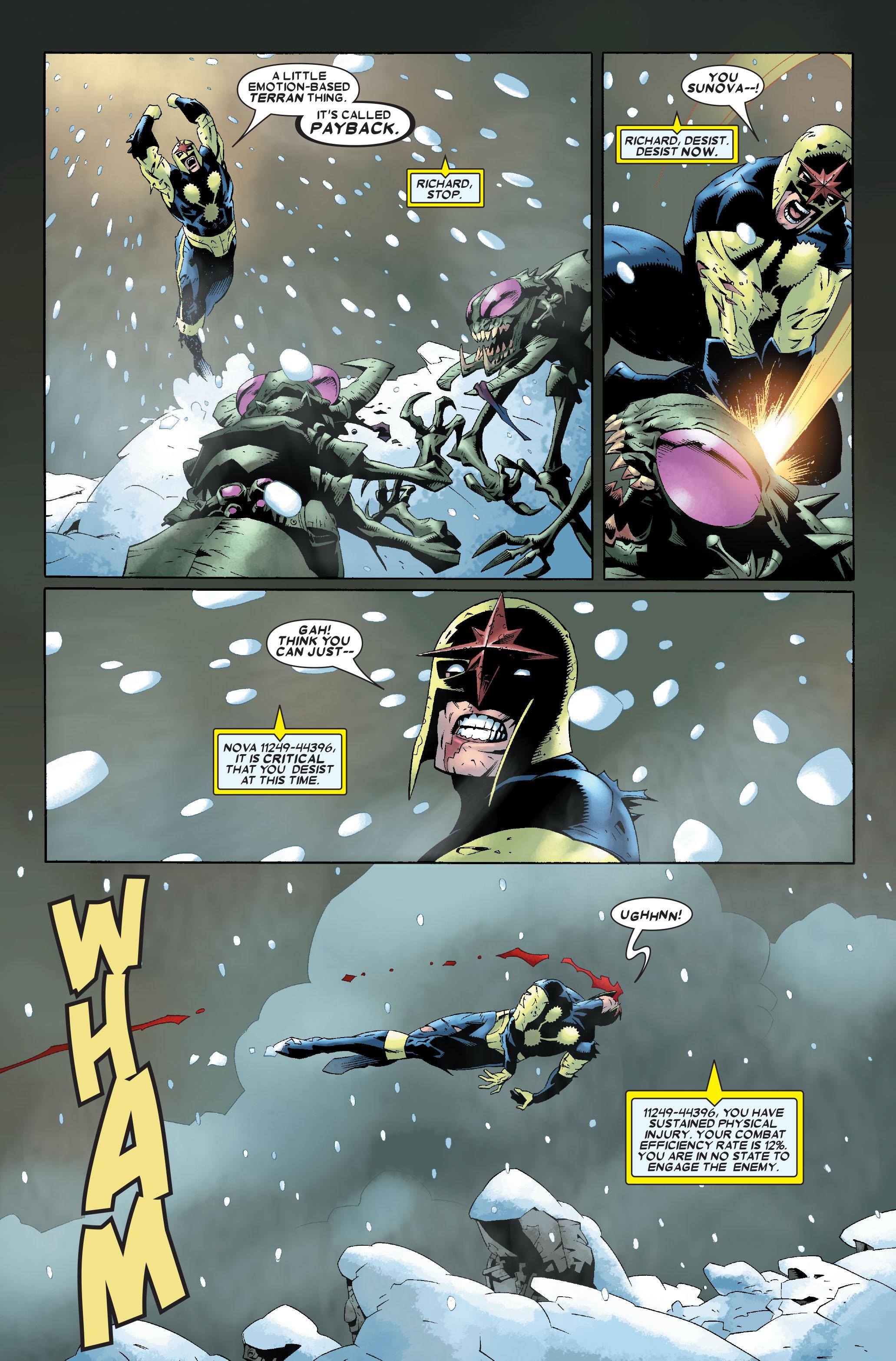 Read online Annihilation: Nova comic -  Issue #1 - 10