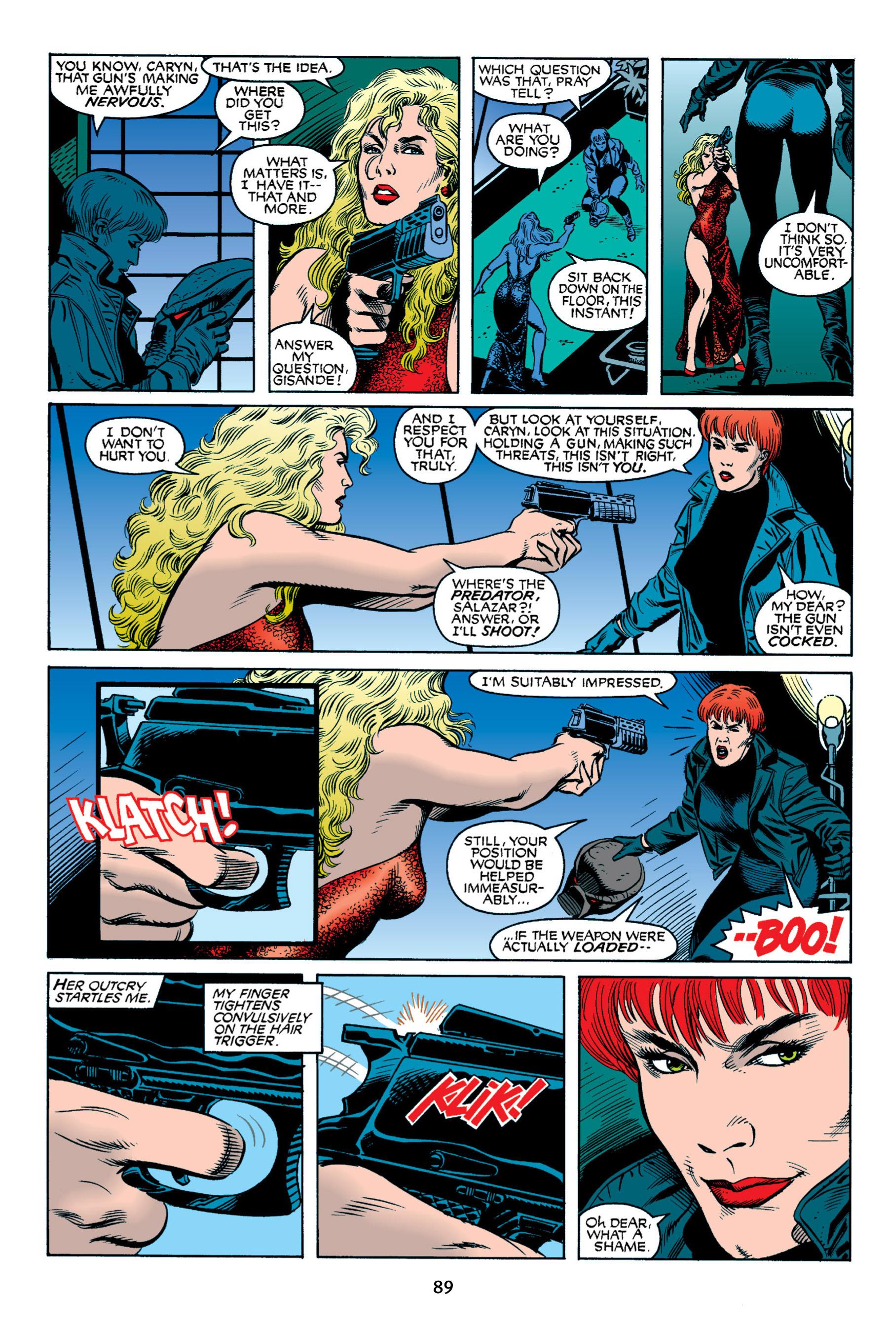 Read online Aliens vs. Predator Omnibus comic -  Issue # _TPB 2 Part 1 - 88