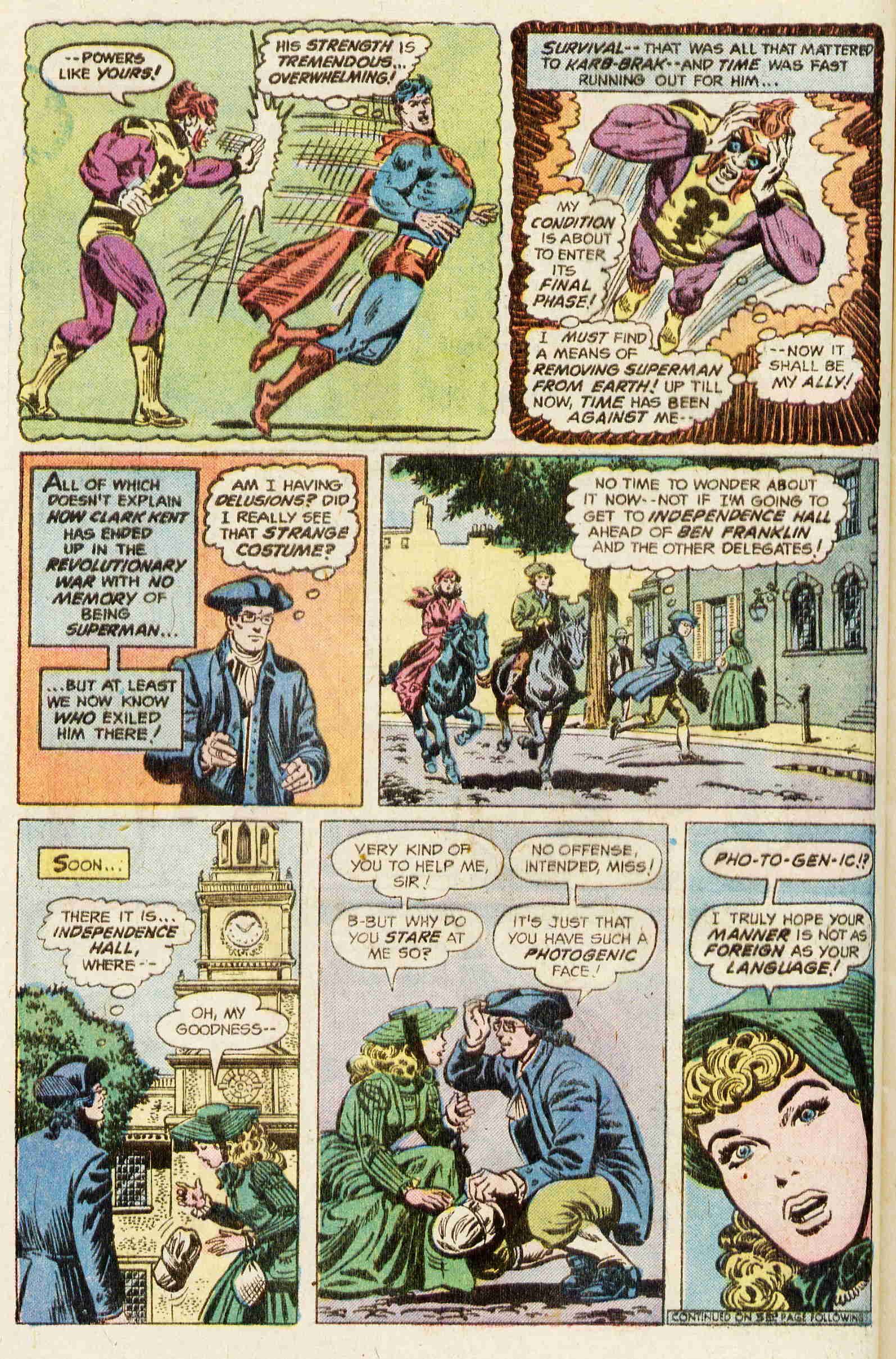 Read online Action Comics (1938) comic -  Issue #463 - 9