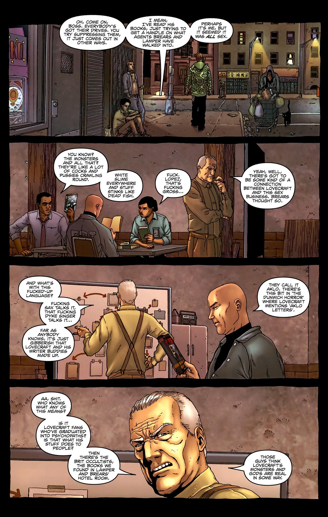 Read online Alan Moore's Neonomicon comic -  Issue #3 - 18