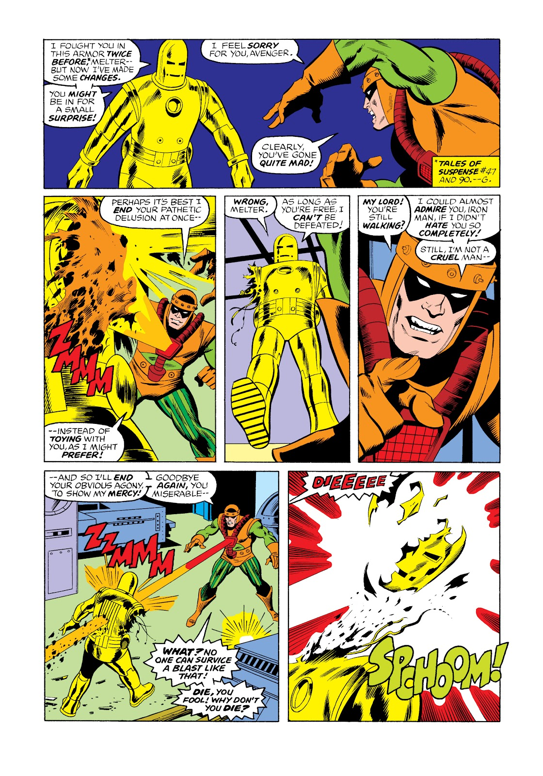 Read online Marvel Masterworks: The Invincible Iron Man comic -  Issue # TPB 11 (Part 3) - 44