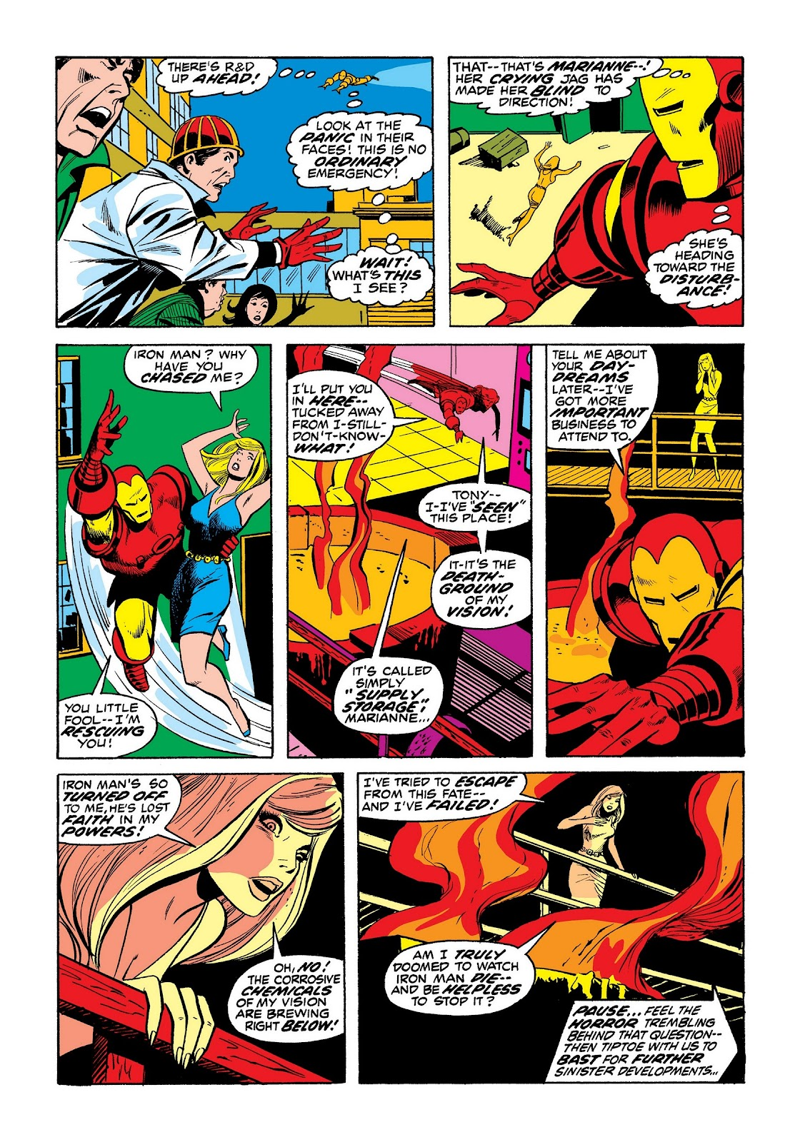 Read online Marvel Masterworks: The Invincible Iron Man comic -  Issue # TPB 8 (Part 3) - 63