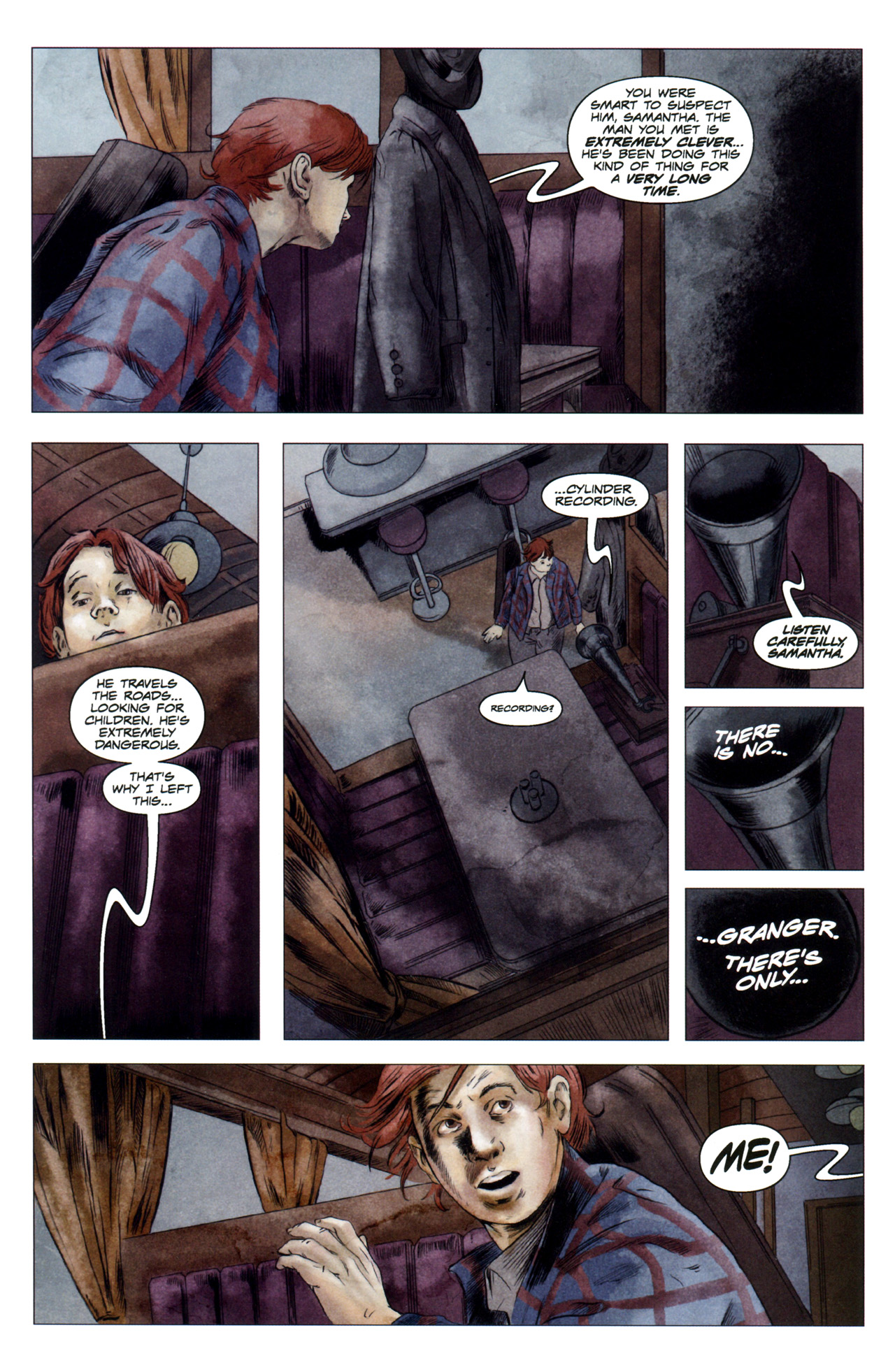 Read online Severed comic -  Issue #4 - 16