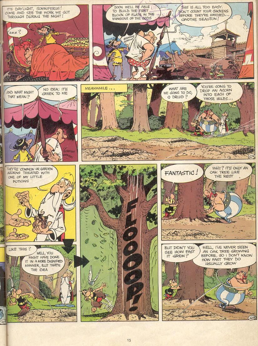 Read online Asterix comic -  Issue #17 - 13