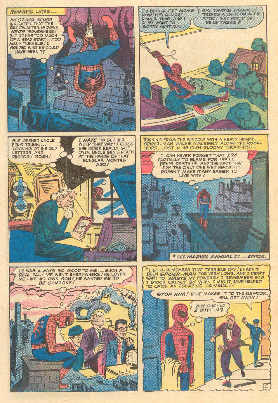 The Amazing Spider-Man (1963) _Annual_6 Page 5