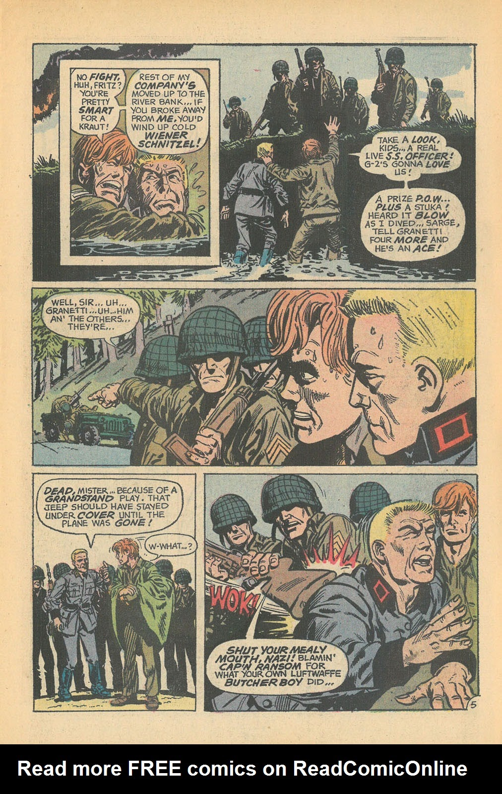 Read online Star Spangled War Stories (1952) comic -  Issue #168 - 7