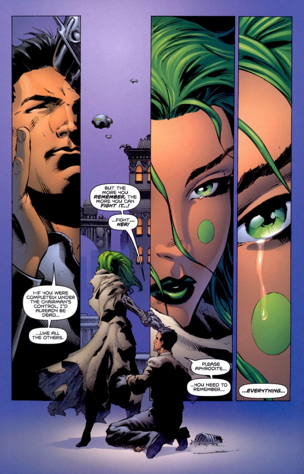 Read online Aphrodite IX (2000) comic -  Issue #4 - 25