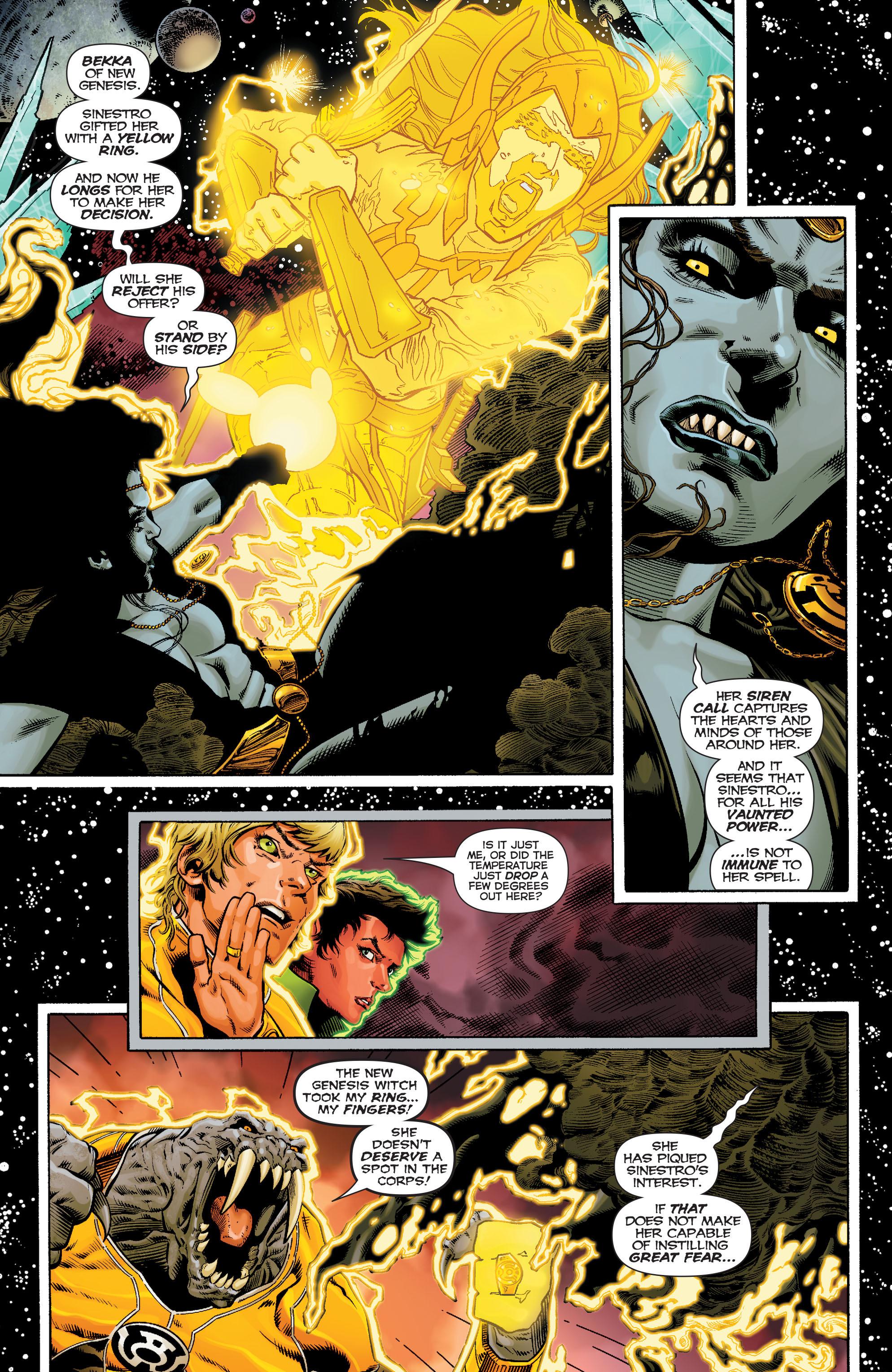 Read online Sinestro comic -  Issue #9 - 7
