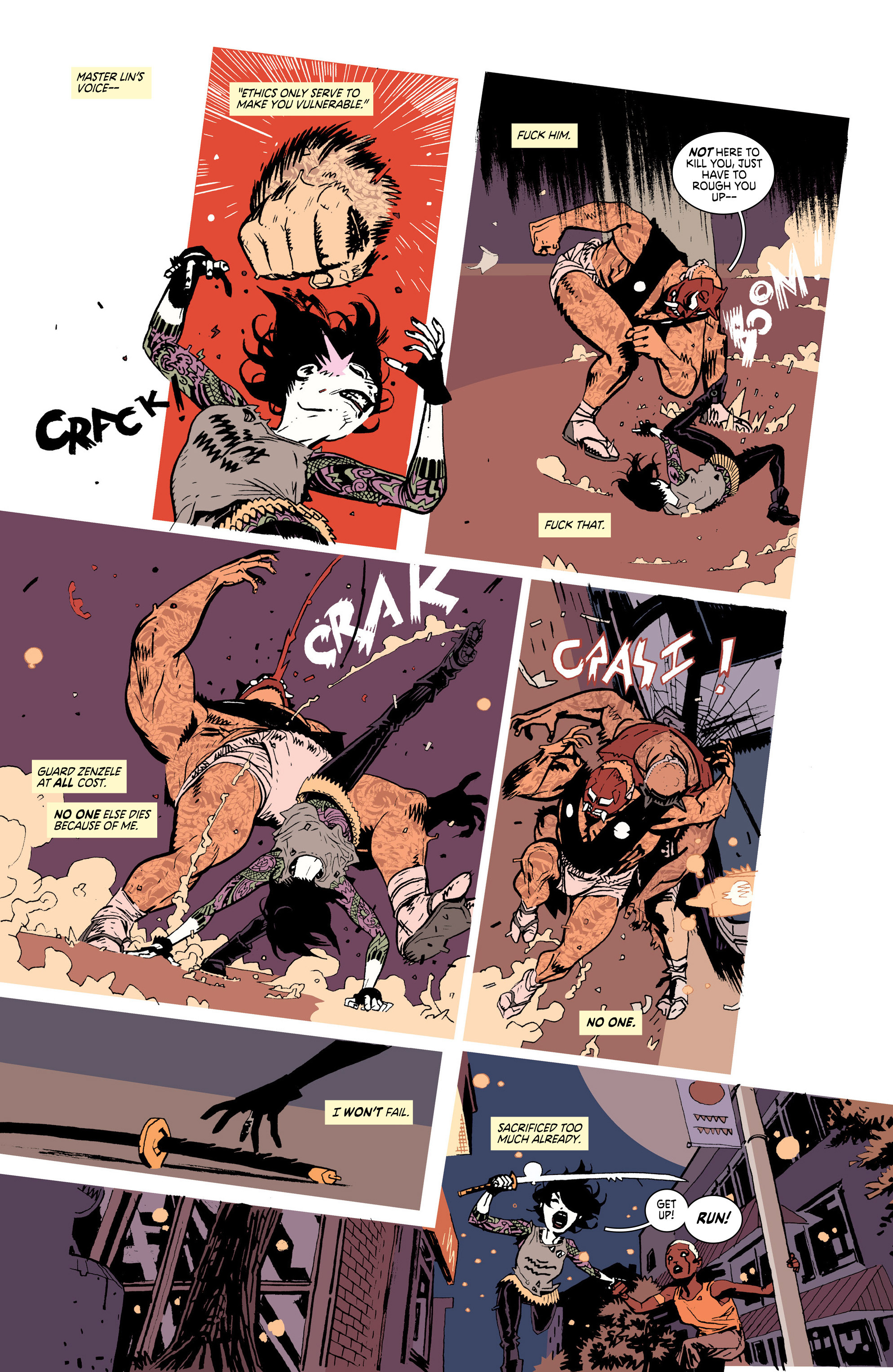 Read online Deadly Class comic -  Issue #25 - 14