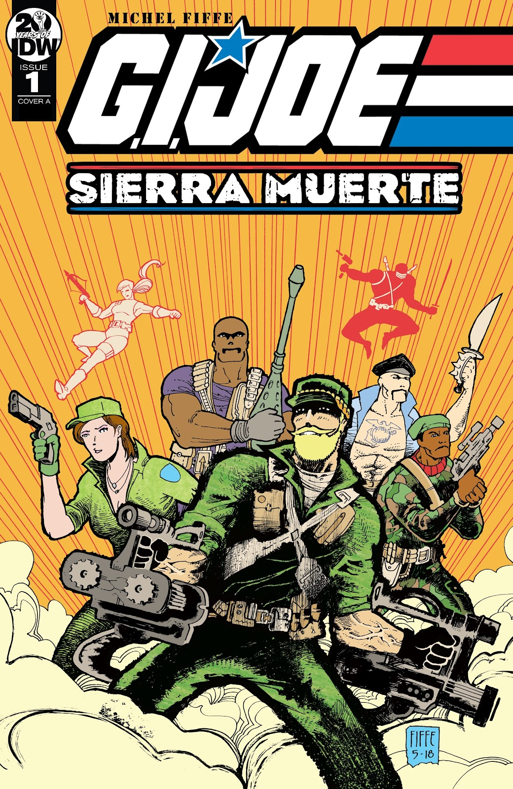Read online G.I. Joe: Sierra Muerte comic -  Issue #1 - 1