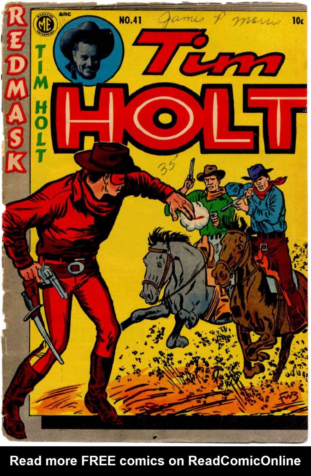 Tim Holt 41 Page 1