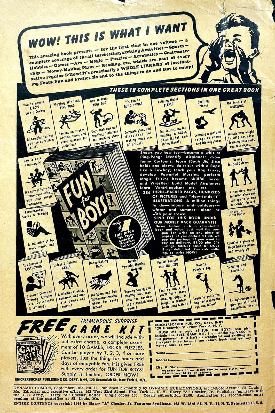Dynamic Comics 11 Page 2