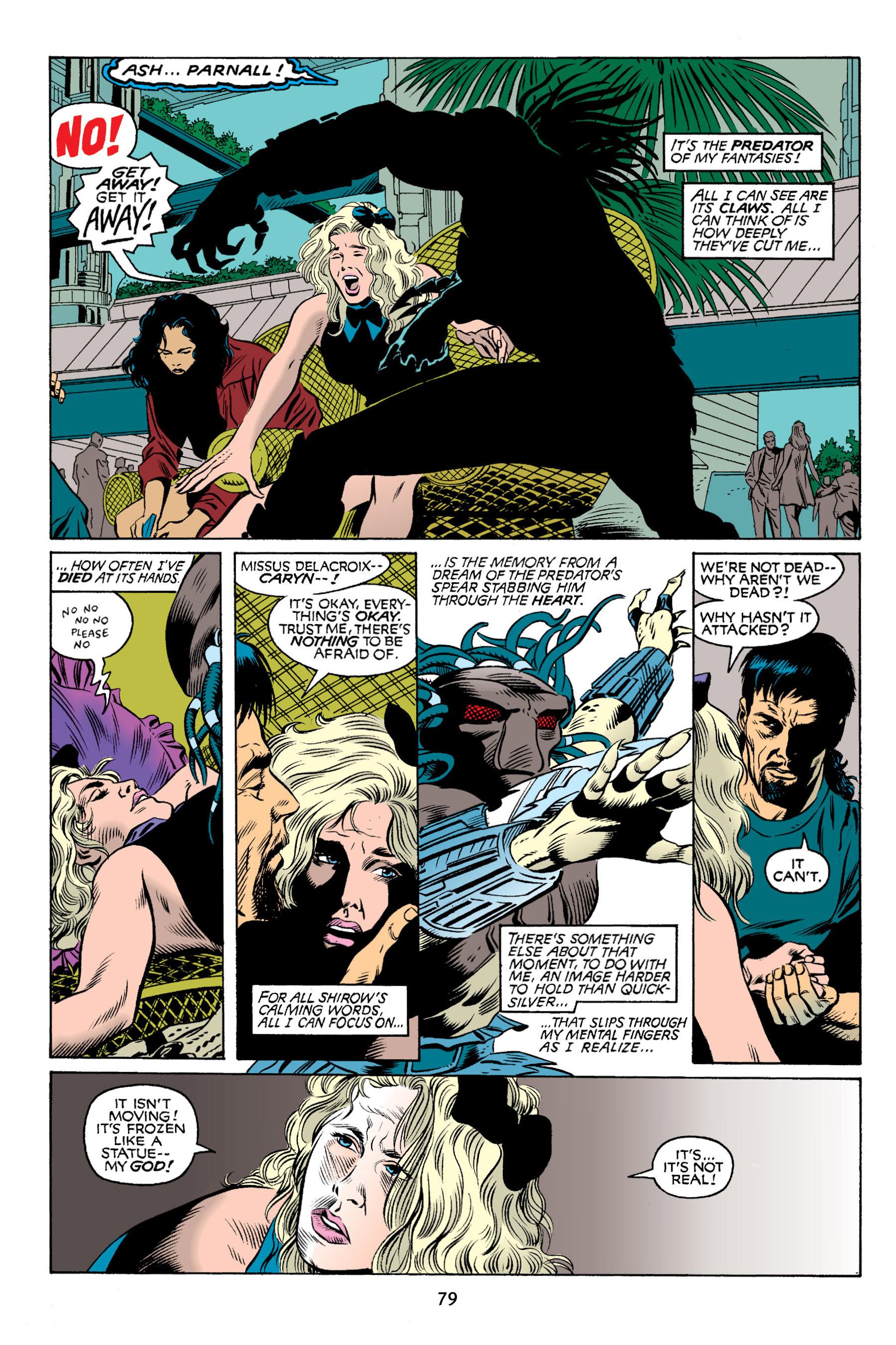 Read online Aliens vs. Predator Omnibus comic -  Issue # _TPB 2 Part 1 - 78