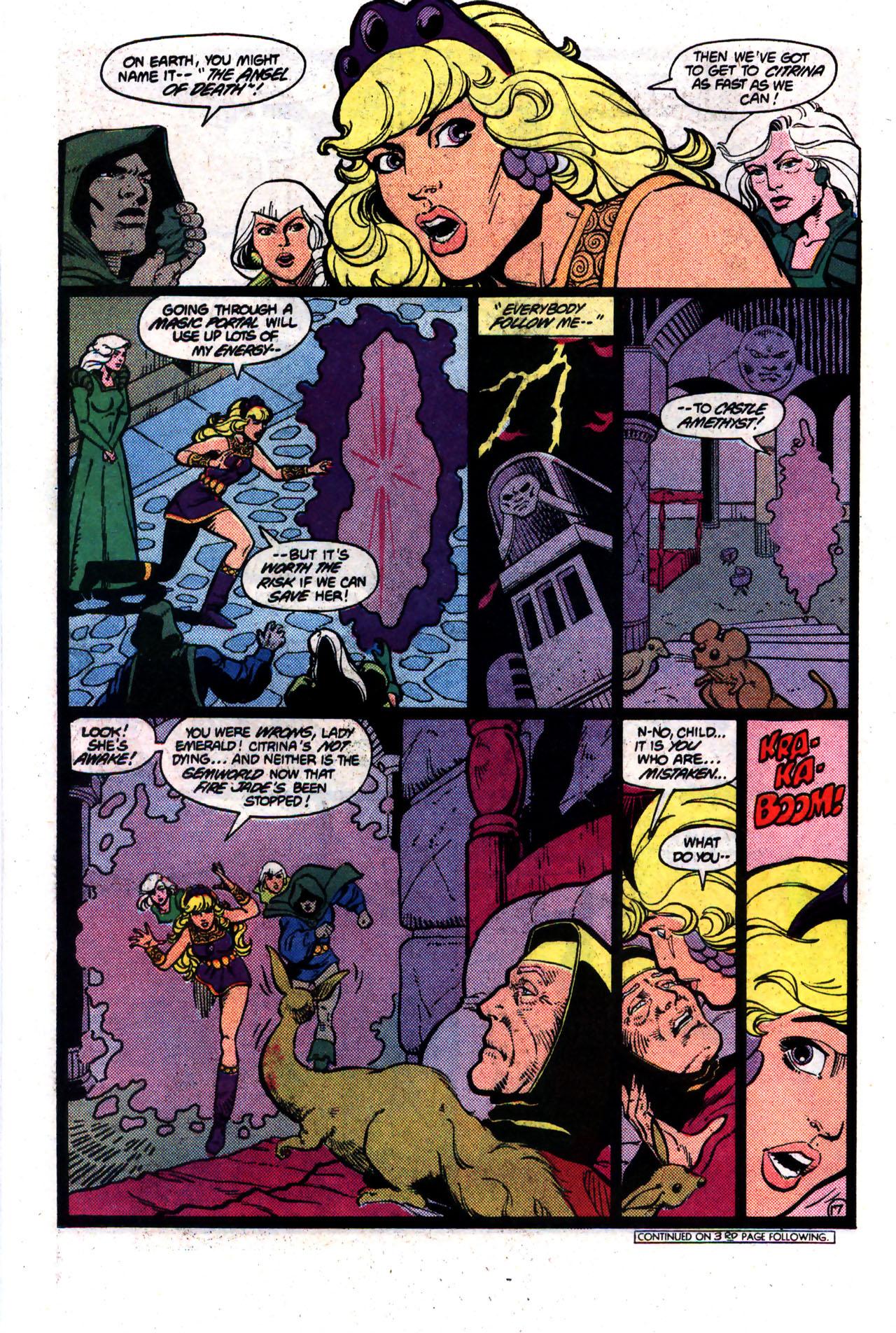 Read online Amethyst (1985) comic -  Issue #8 - 17