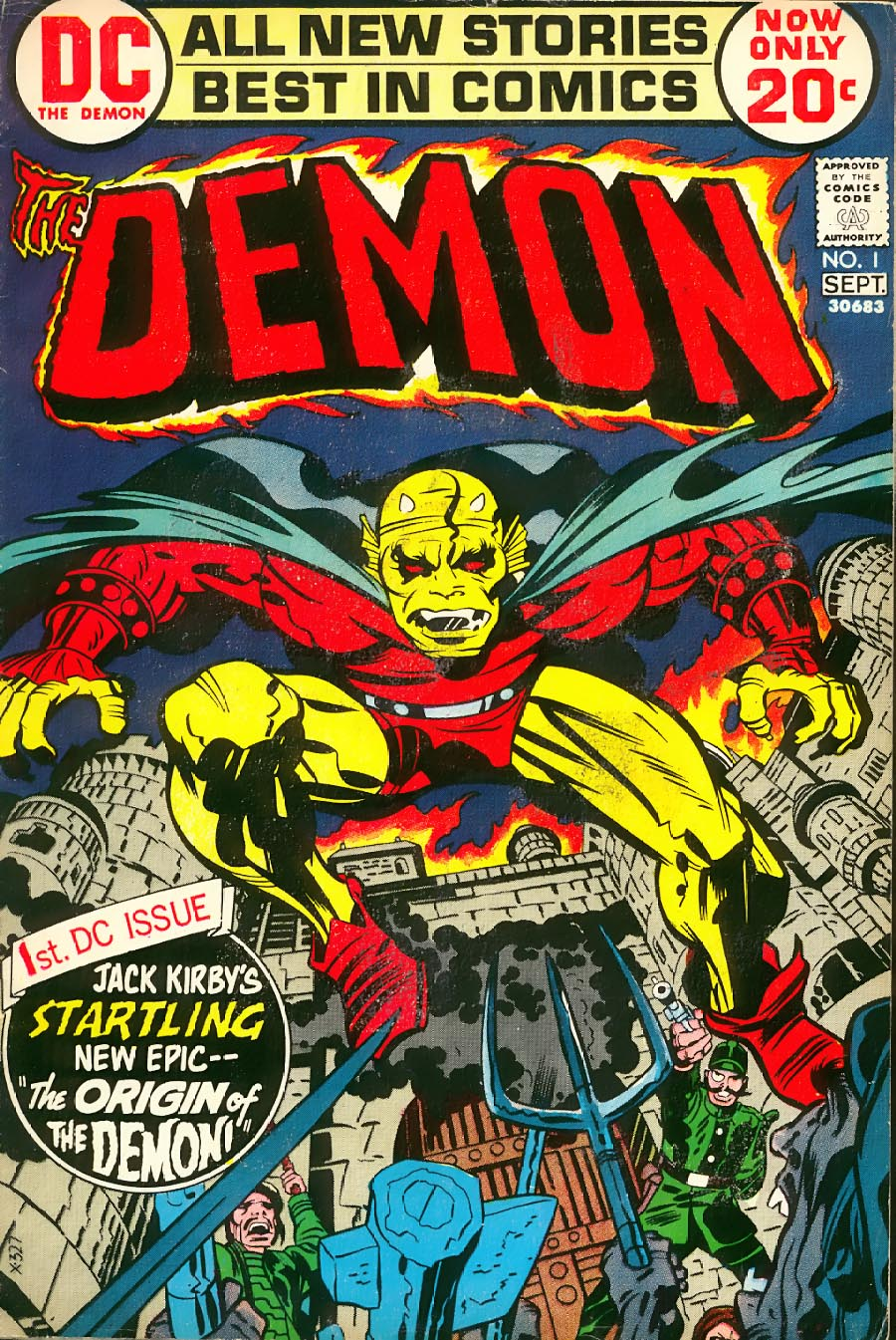 The Demon (1972) 1 Page 1
