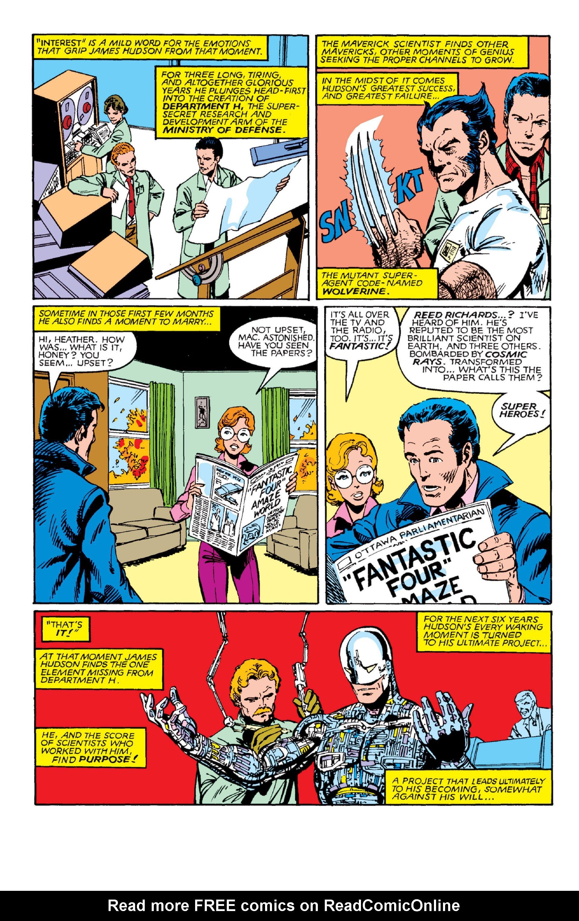 Read online Alpha Flight (1983) comic -  Issue #3 - 21