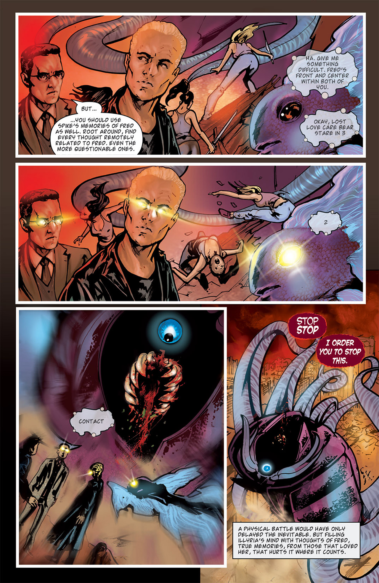 Read online Angel: After The Fall comic -  Issue #15 - 21