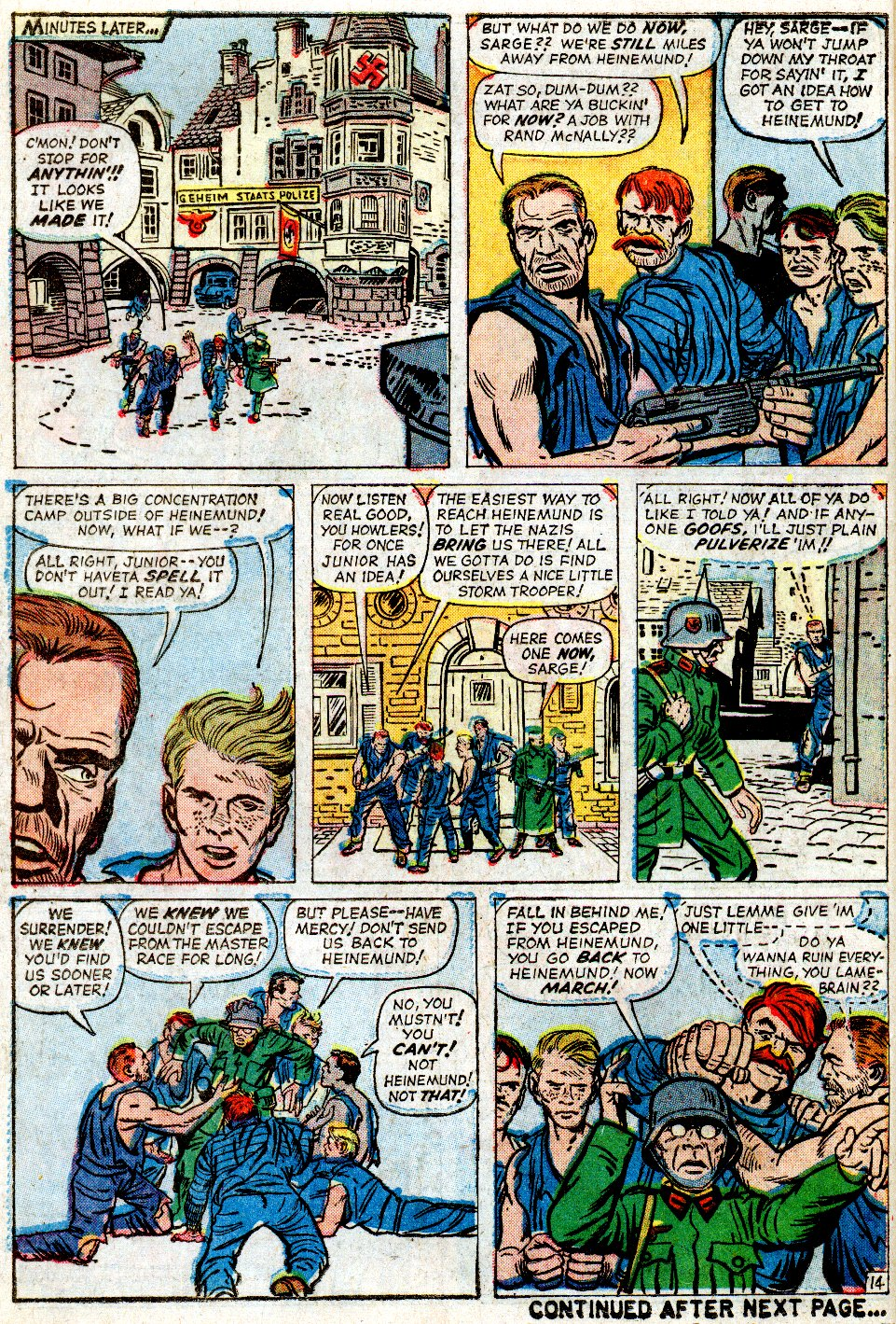 Read online Sgt. Fury comic -  Issue #2 - 18