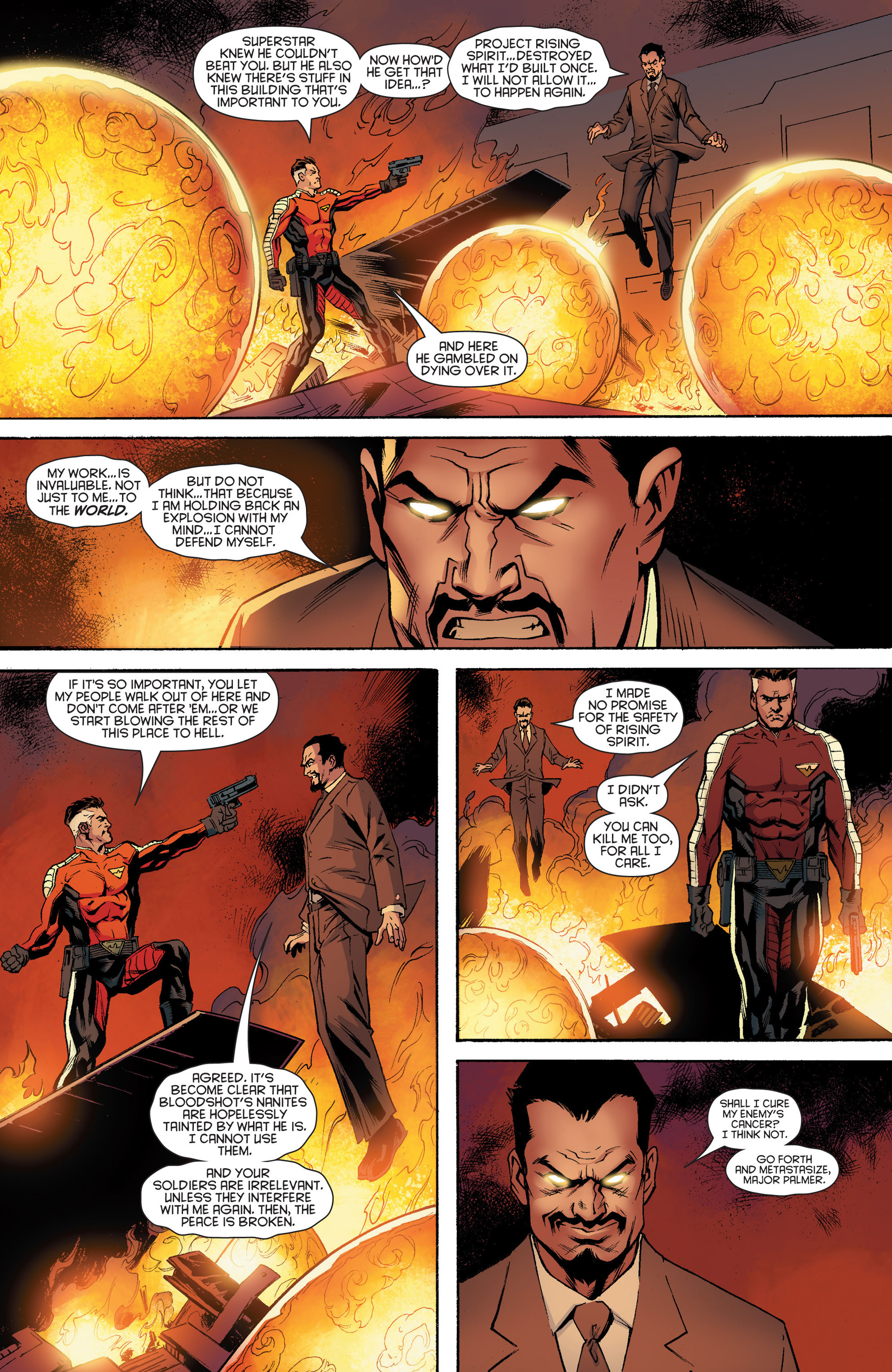 Read online Bloodshot and H.A.R.D.Corps comic -  Issue #17 - 20