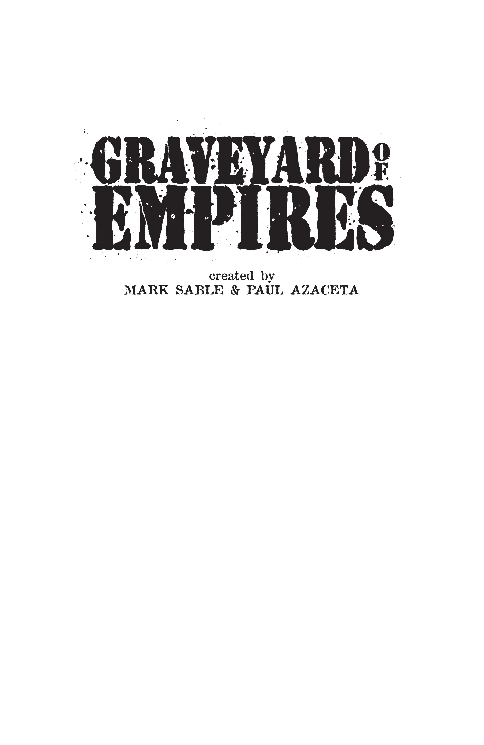 Read online Graveyard of Empires comic -  Issue # TPB - 3