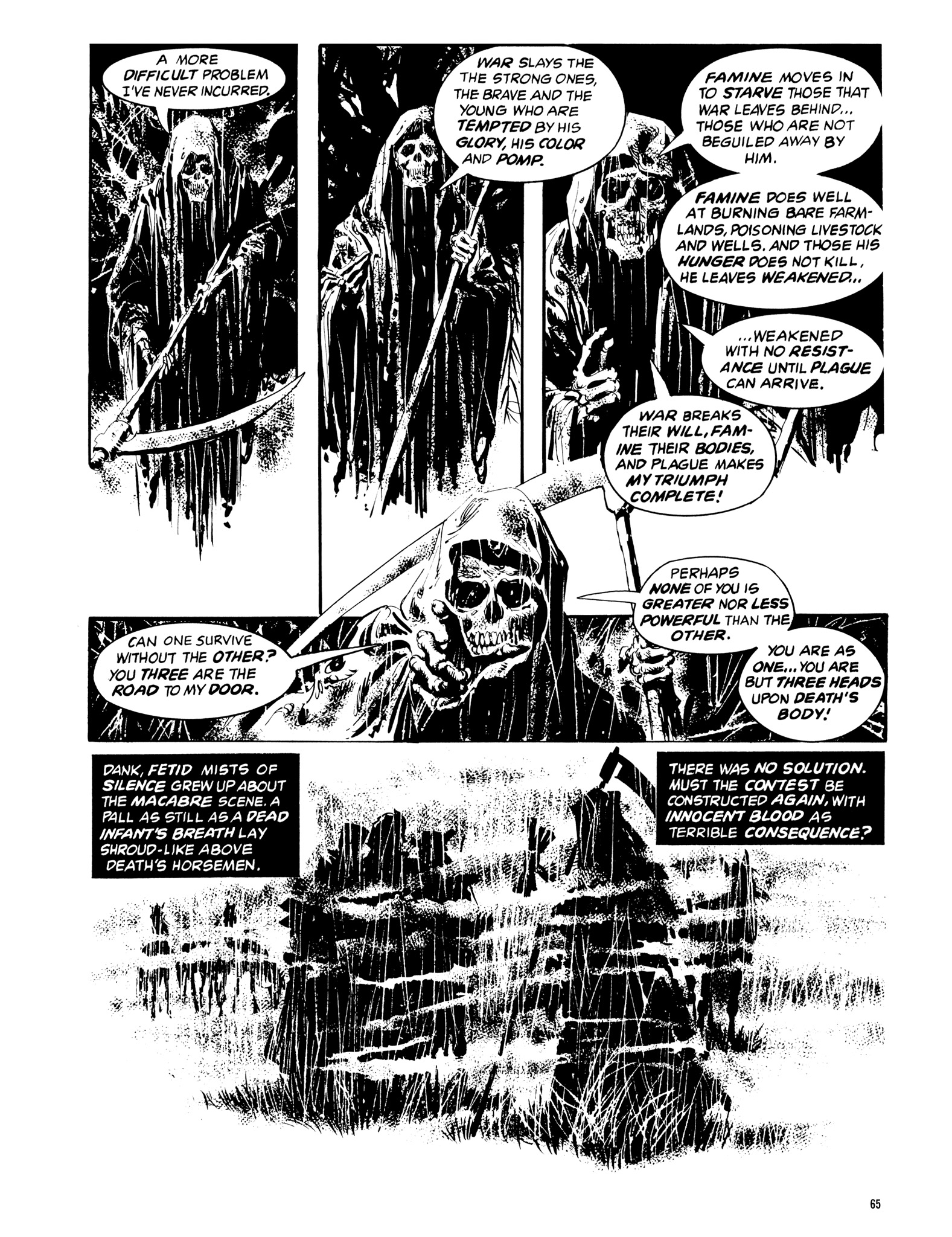 Read online Eerie Archives comic -  Issue # TPB 14 - 66