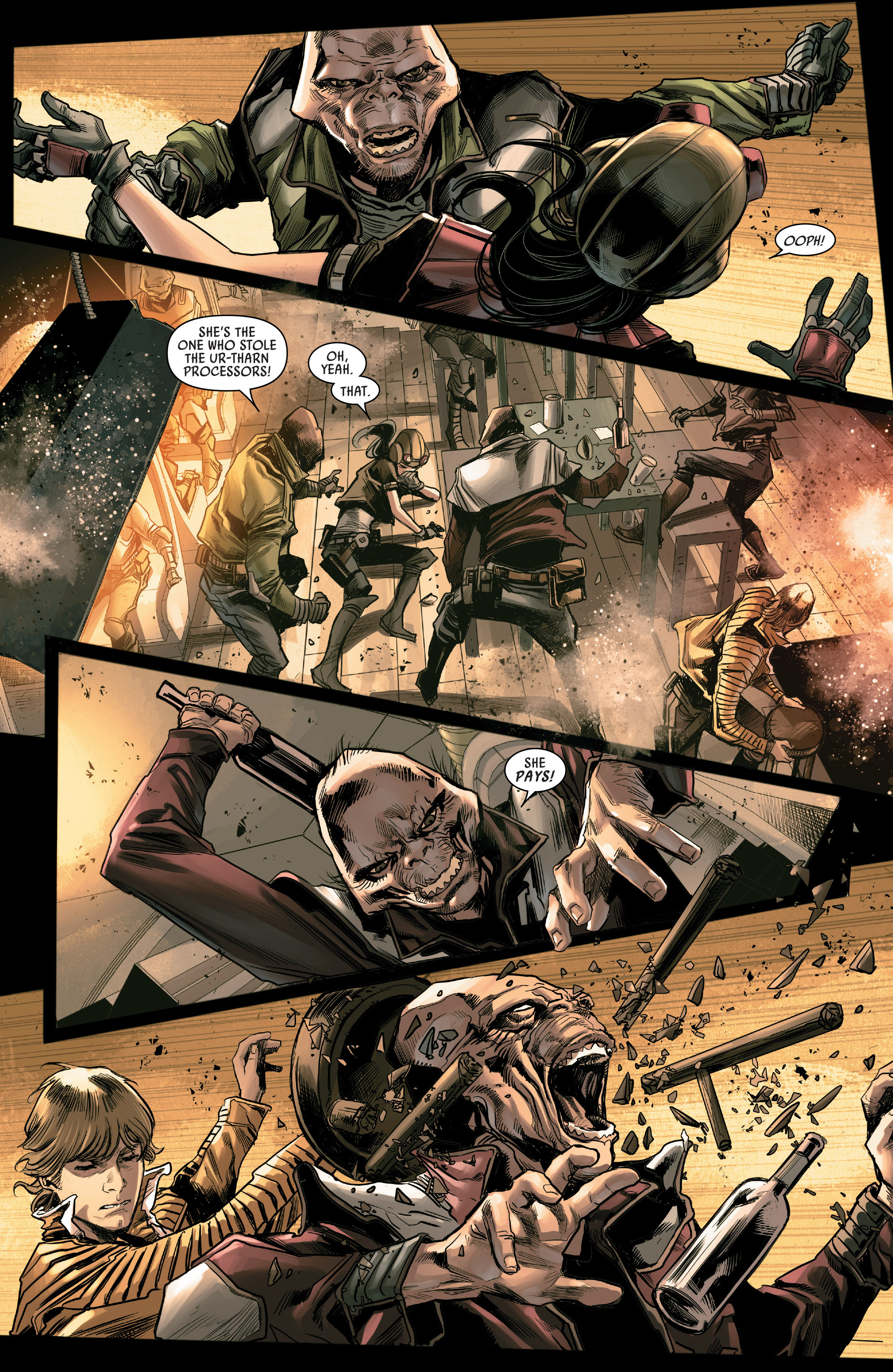 Read online Star Wars: The Screaming Citadel comic -  Issue # Full - 6