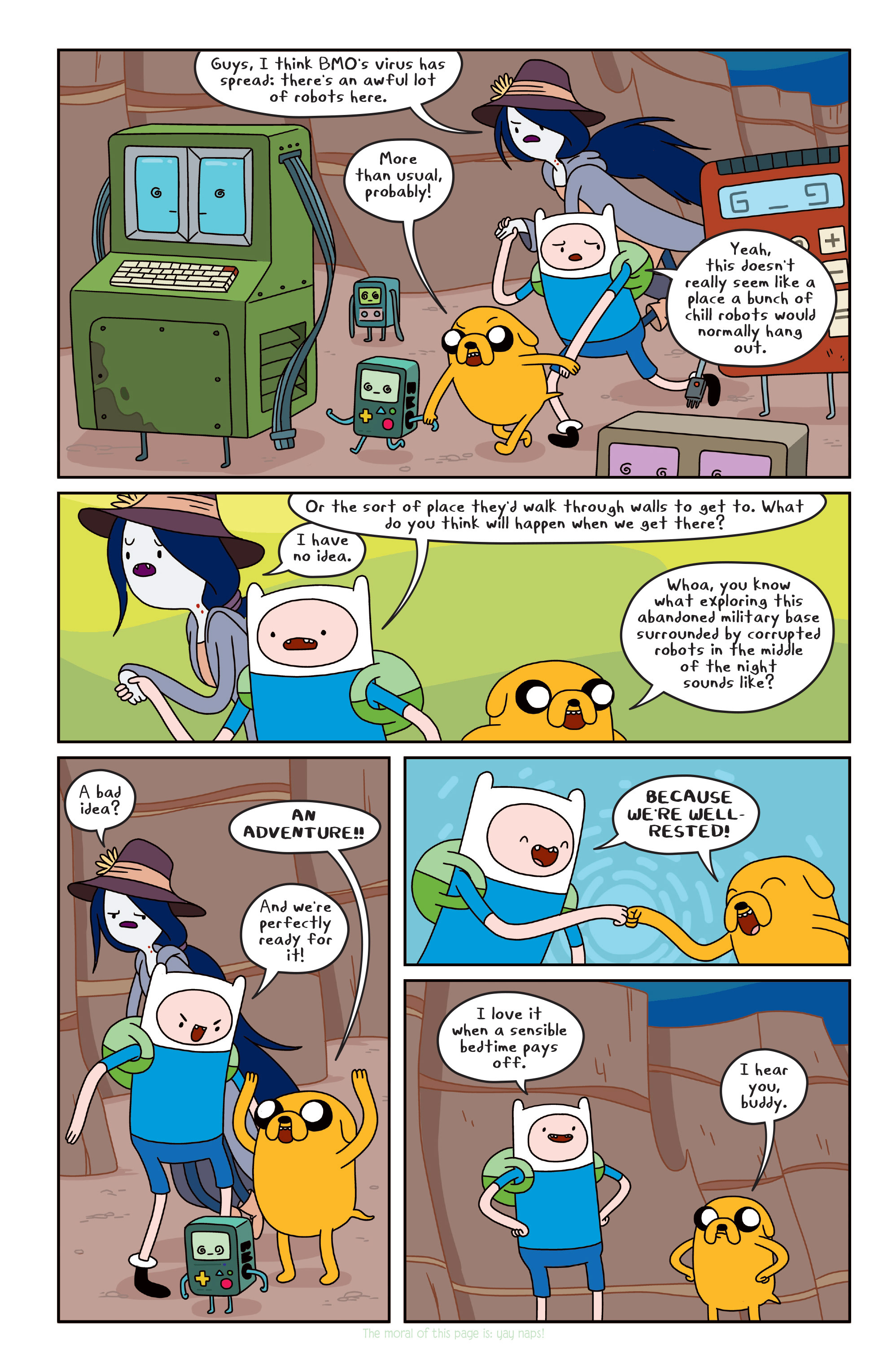Read online Adventure Time comic -  Issue #Adventure Time _TPB 3 - 50