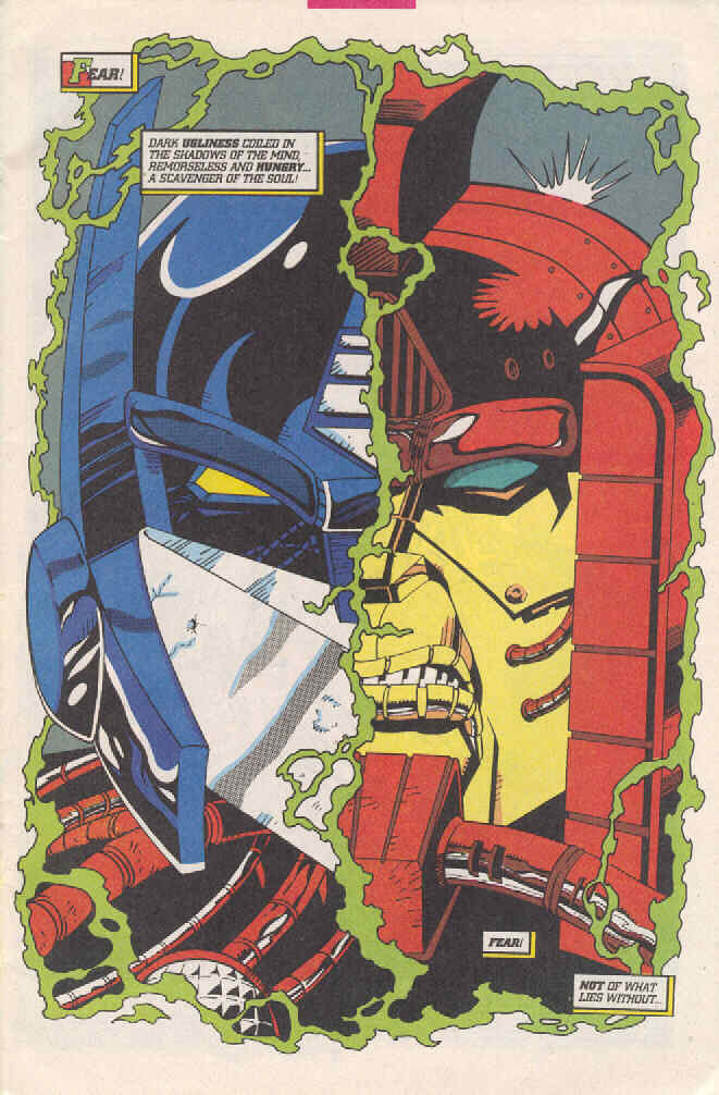 Read online Transformers: Generation 2 comic -  Issue #3 - 3