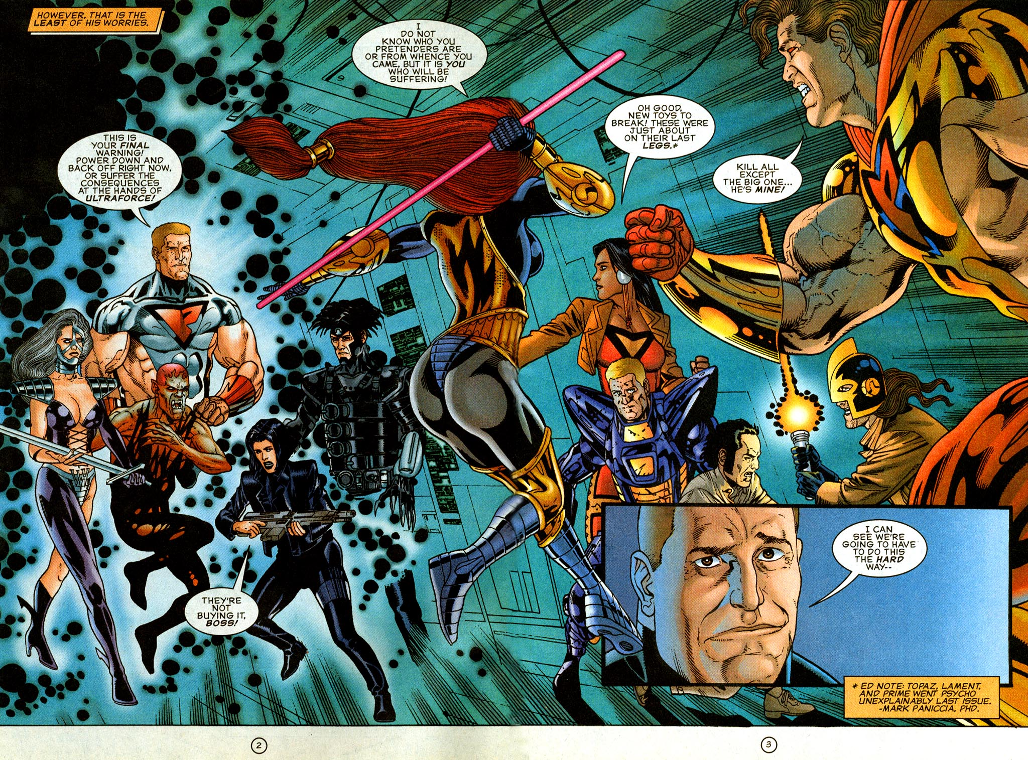 Read online UltraForce (1995) comic -  Issue #9 - 3