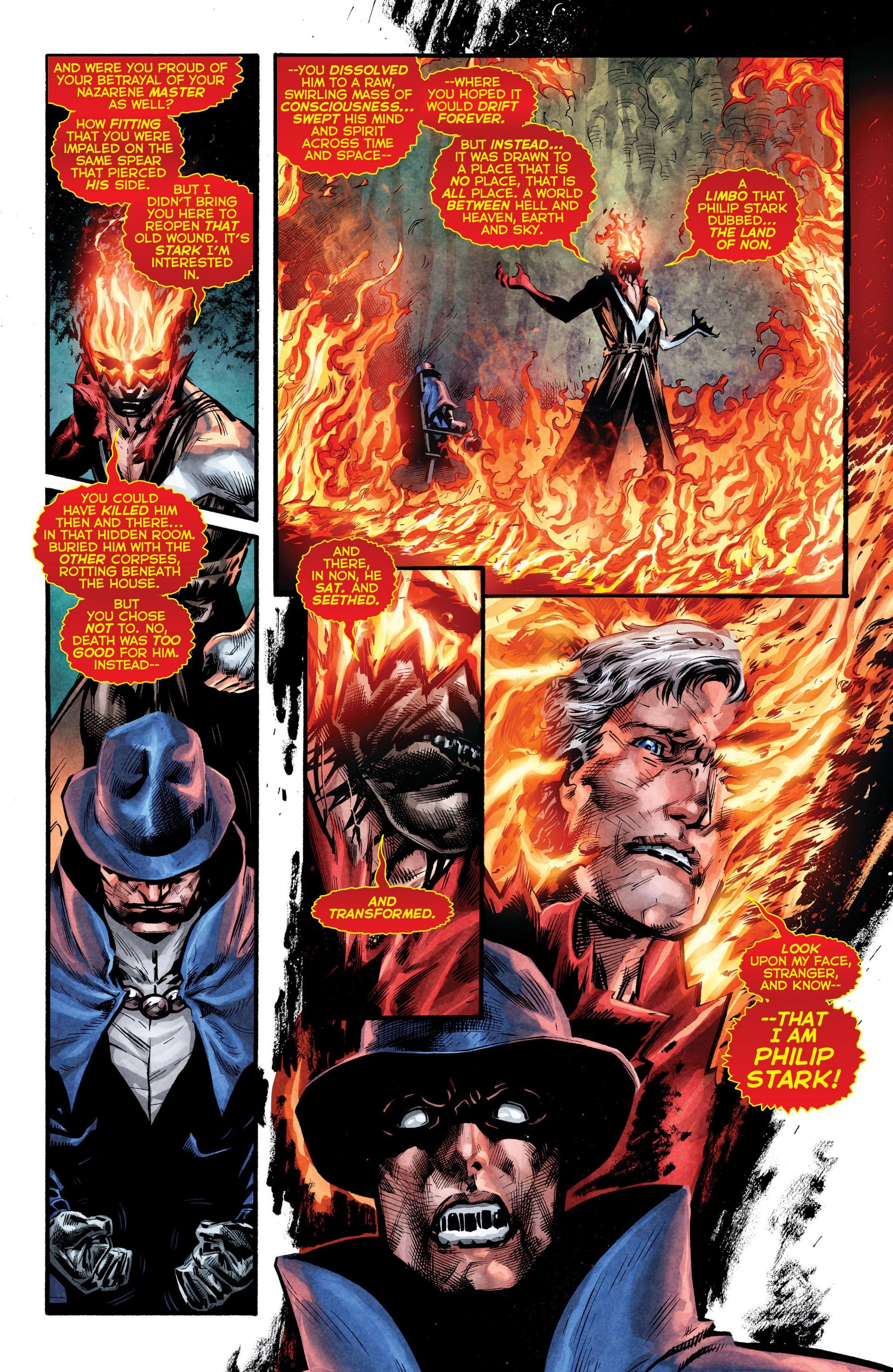 Read online Trinity of Sin: The Phantom Stranger comic -  Issue #8 - 17