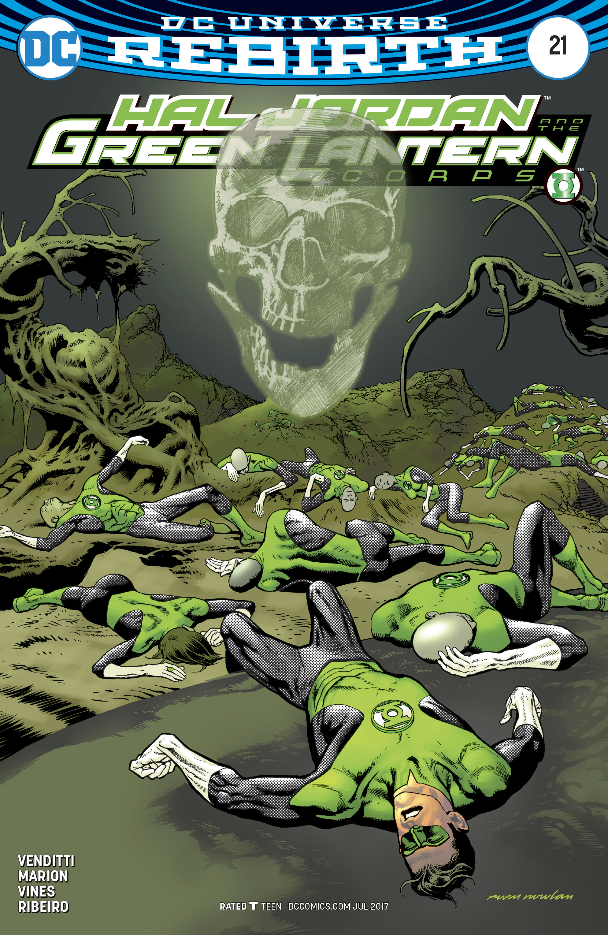 Read online Hal Jordan And The Green Lantern Corps comic -  Issue #21 - 3