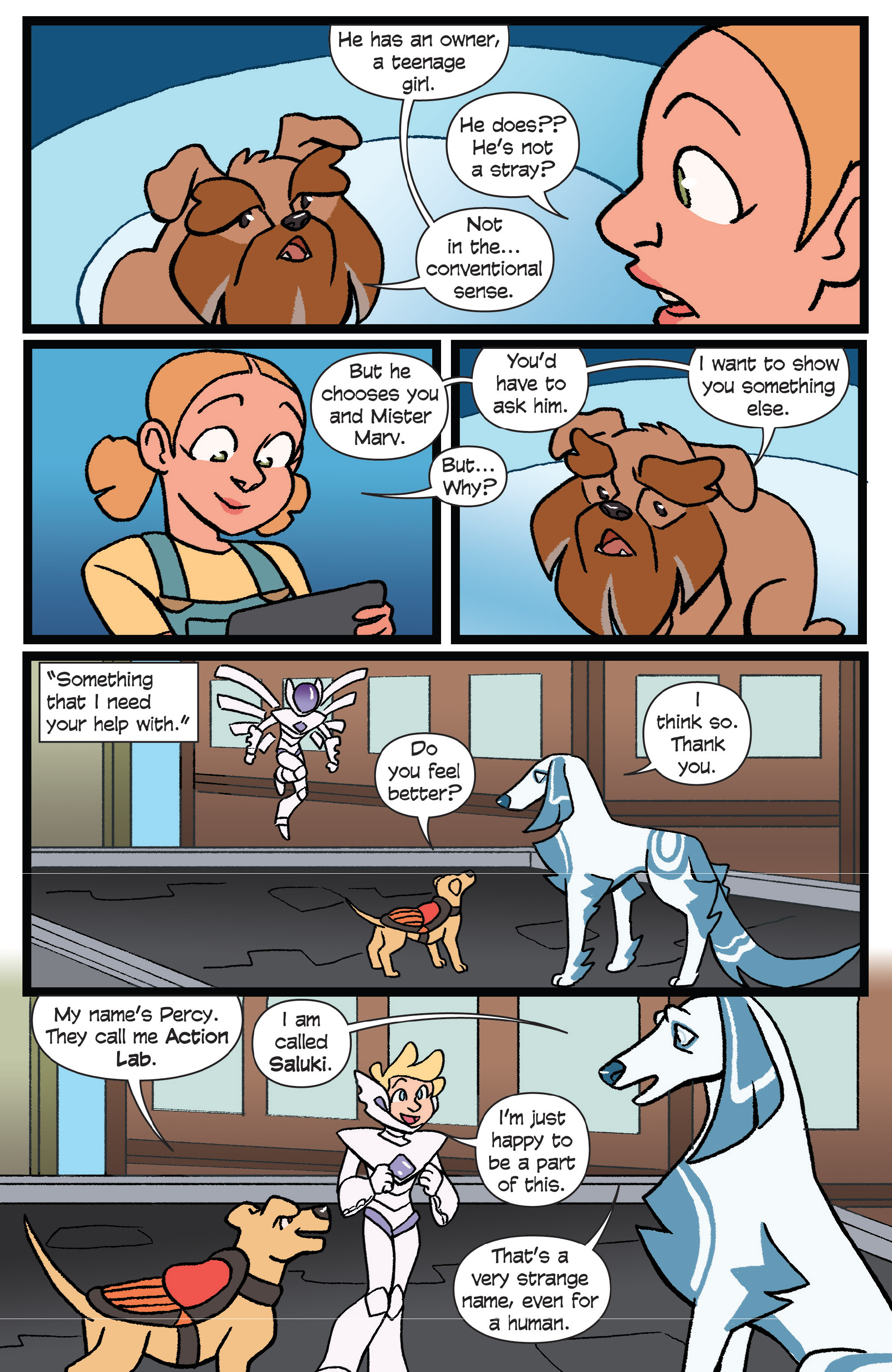 Read online Action Lab, Dog of Wonder comic -  Issue #6 - 16