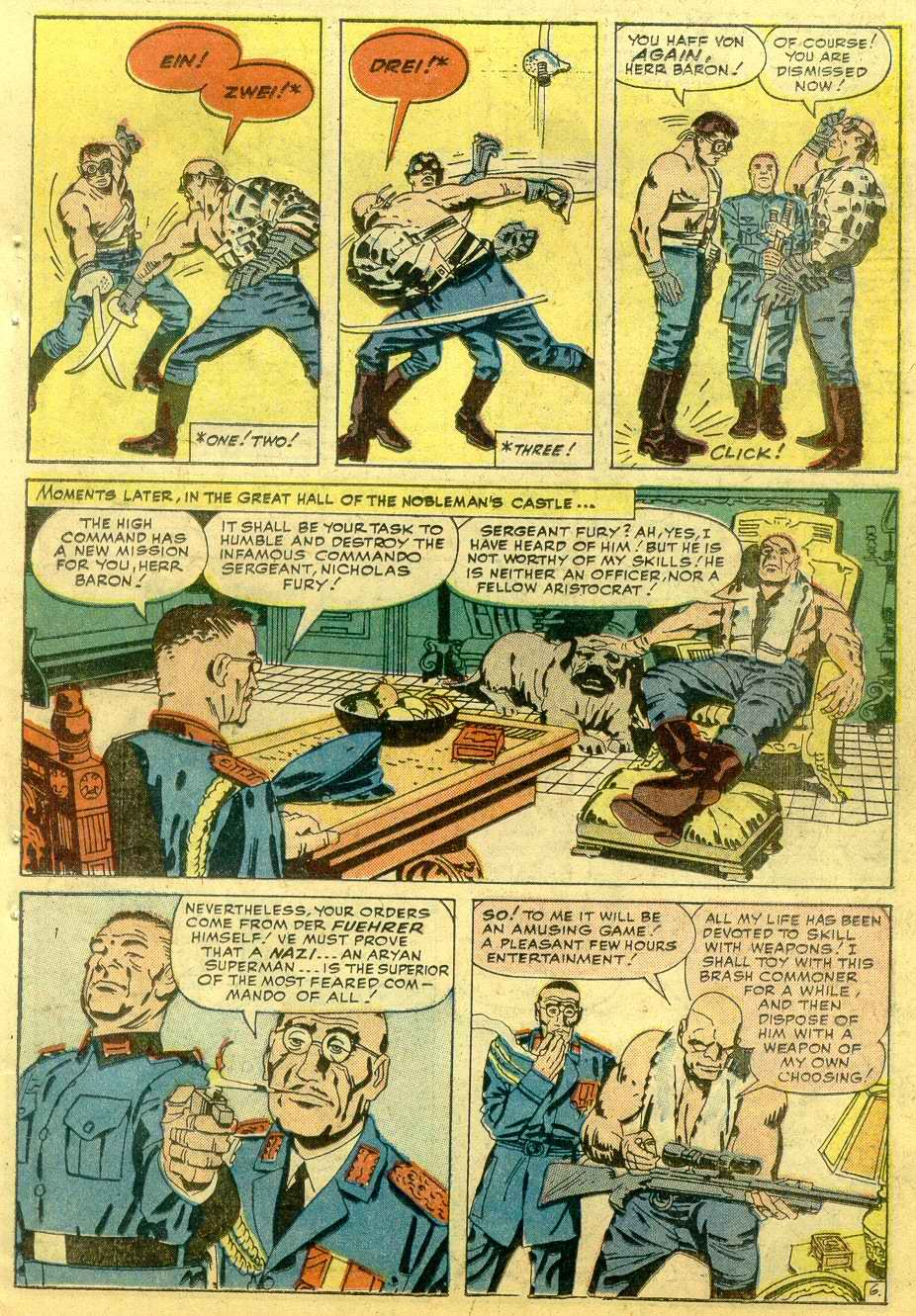 Read online Sgt. Fury comic -  Issue # _Annual 1 - 53