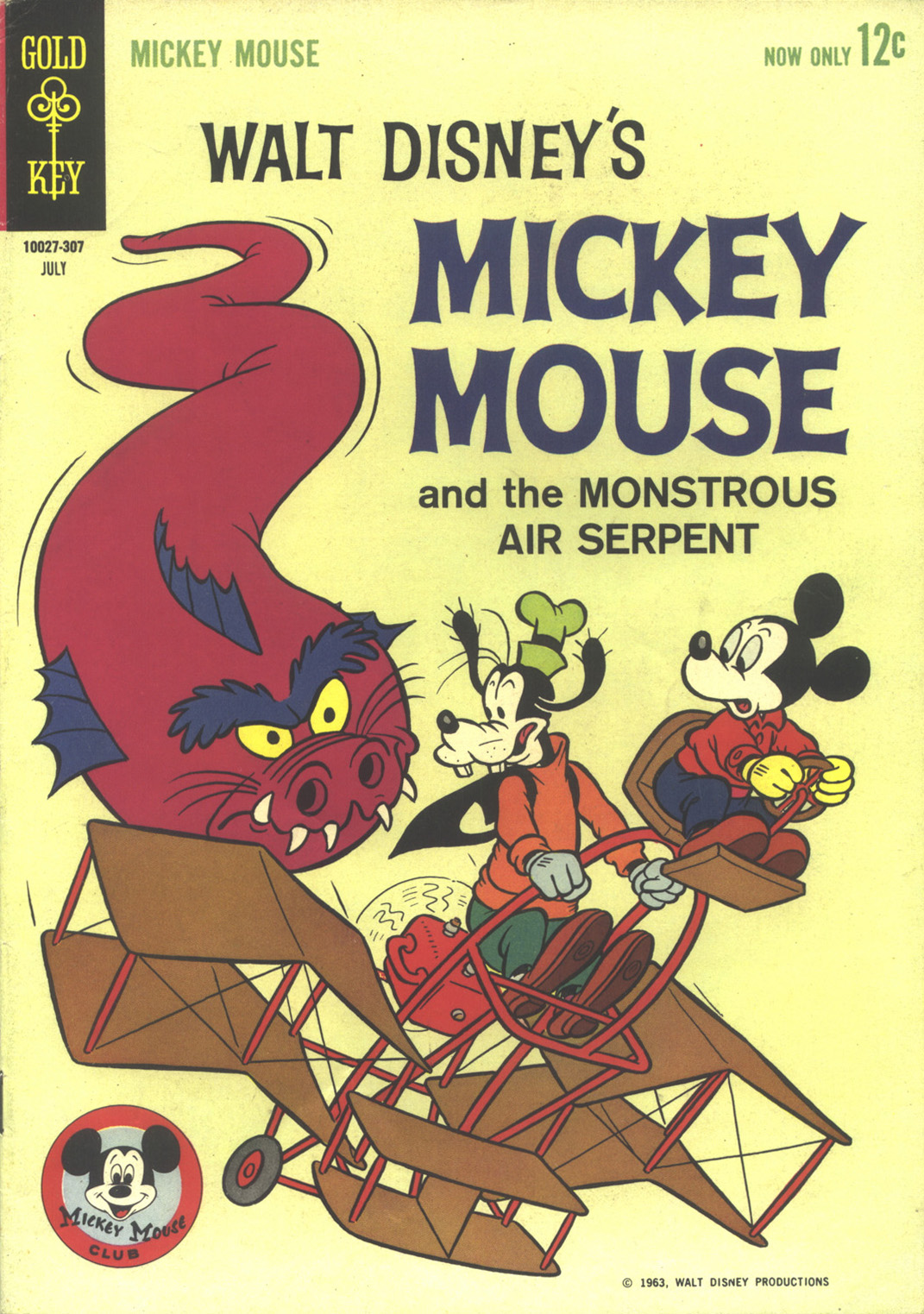 Walt Disney's Mickey Mouse issue 88 - Page 1