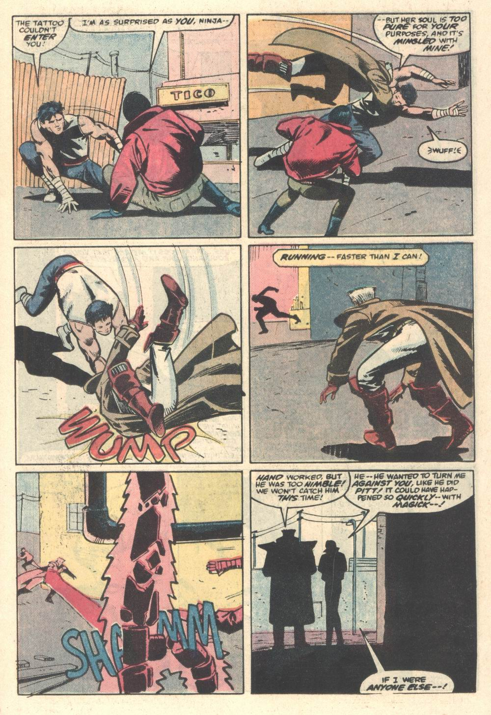 Read online Justice (1986) comic -  Issue #5 - 10
