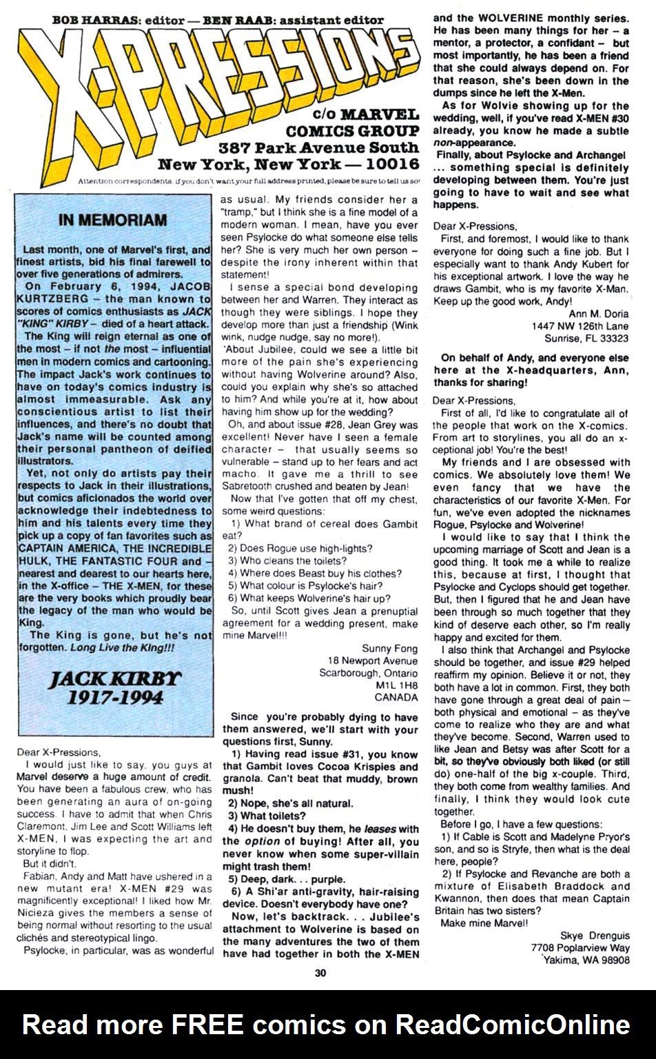 X-Men (1991) 32 Page 20
