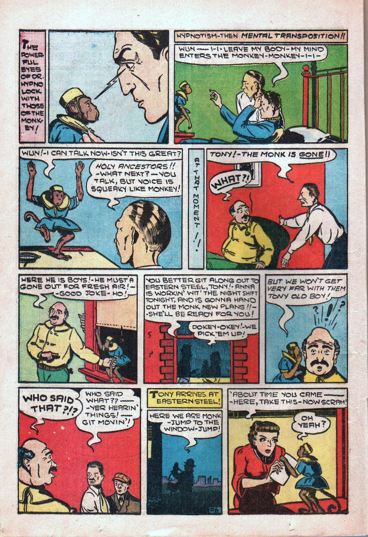 Read online Amazing Man Comics comic -  Issue #20 - 21