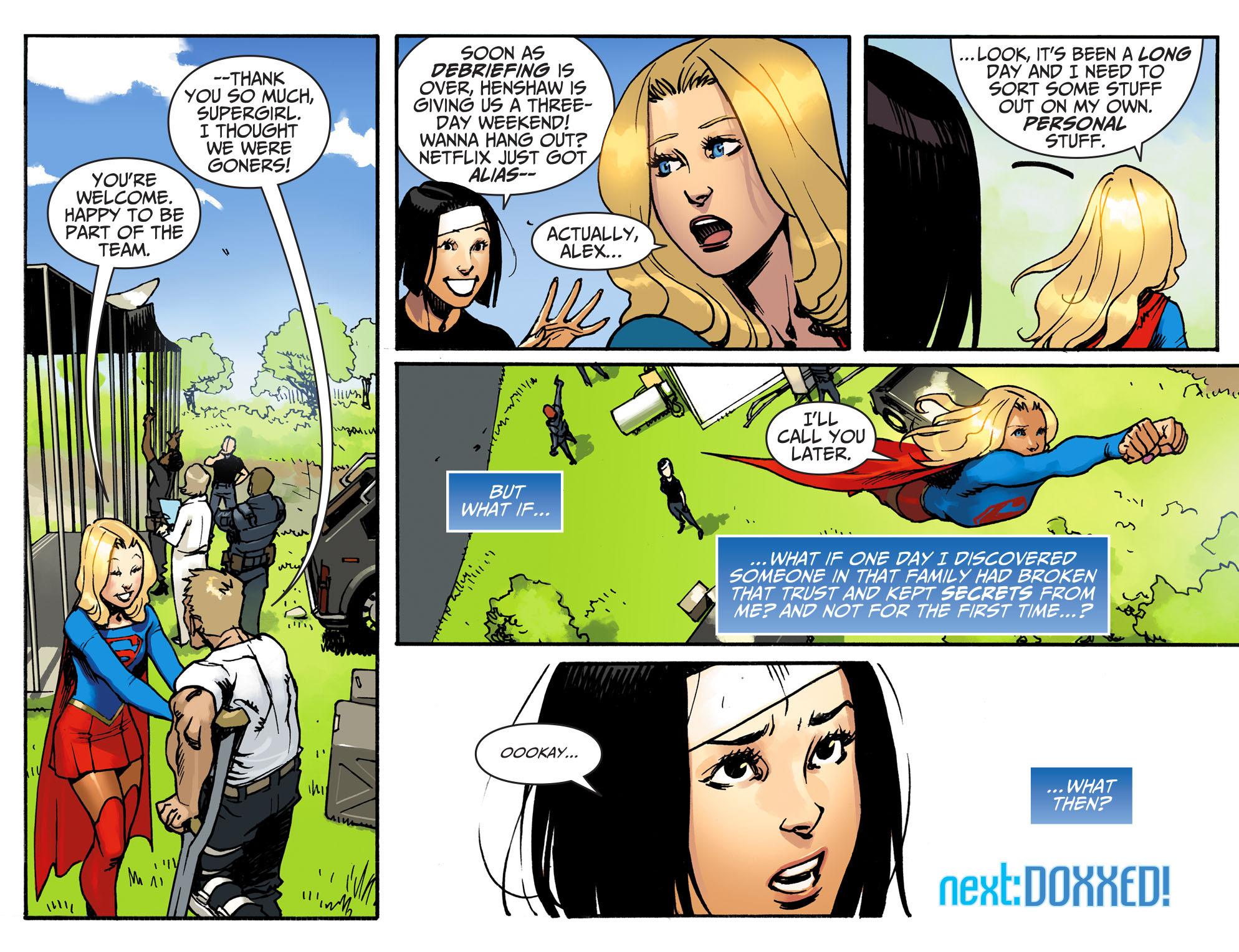 Read online Adventures of Supergirl comic -  Issue #3 - 22