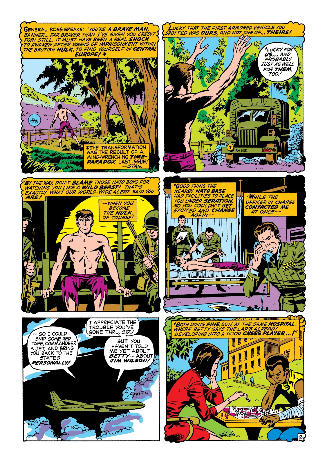 Read online Marvel Masterworks: The Incredible Hulk comic -  Issue # TPB 7 (Part 1) - 29