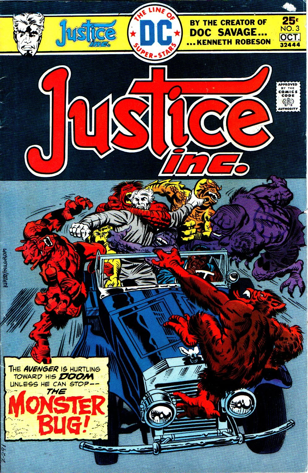 Justice, Inc. (1975) issue 3 - Page 1
