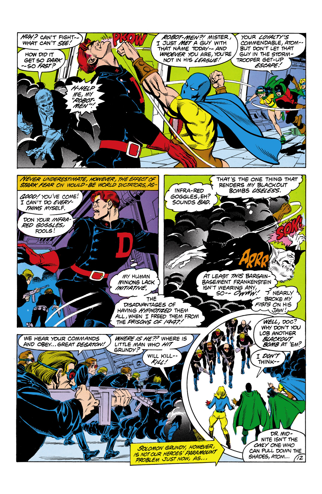 Read online All-Star Squadron comic -  Issue #3 - 13